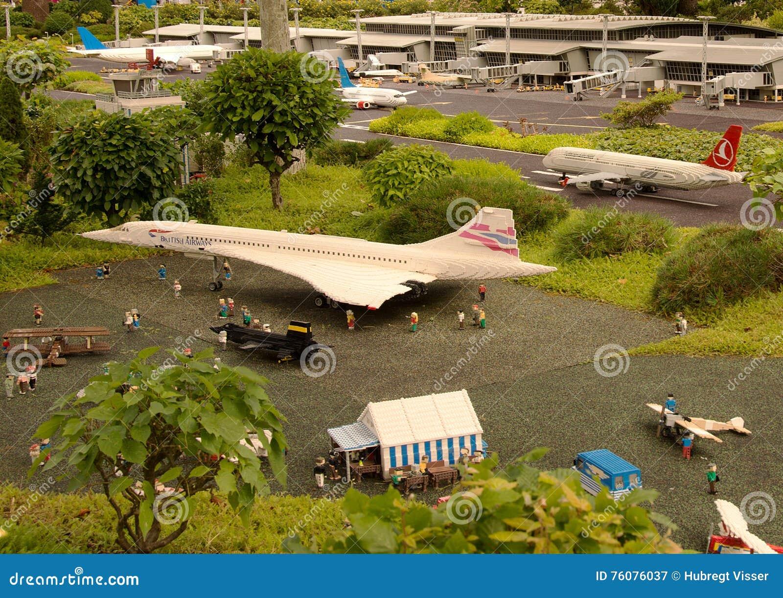Aéroport dans Lego