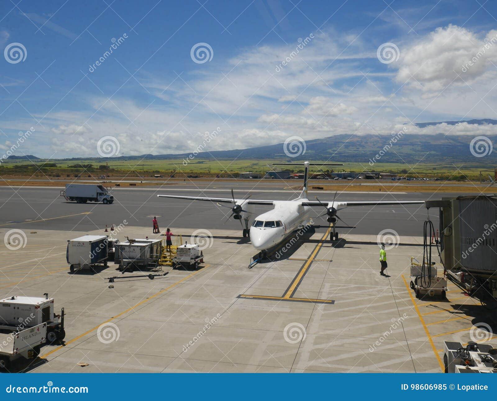 Aéroport de Kahului, Maui, Hawaï, Etats-Unis