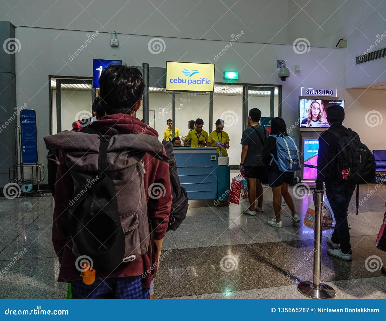 Aéroport de Tan Son Nhat dans Saigon, Vietnam