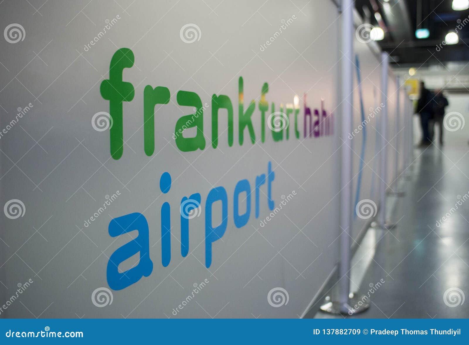 Aéroport international à Francfort Hahn, Allemagne