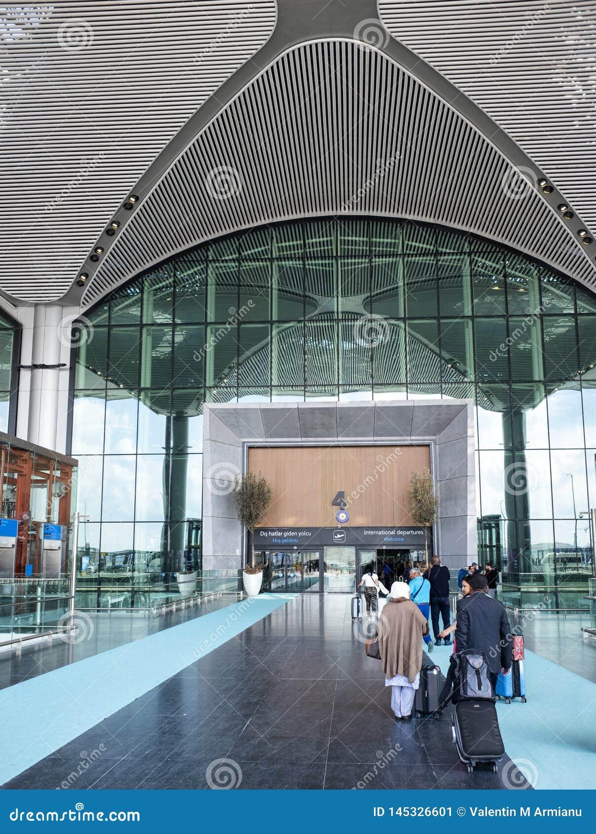 Aéroport international d entrée à Istanbul