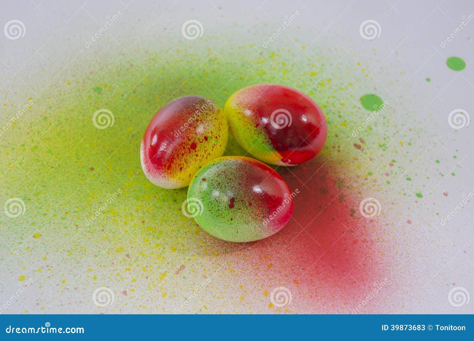 A rosol de peinture d 39 oeuf de p ques photo stock image 39873683 - Peinture oeufs de paques ...