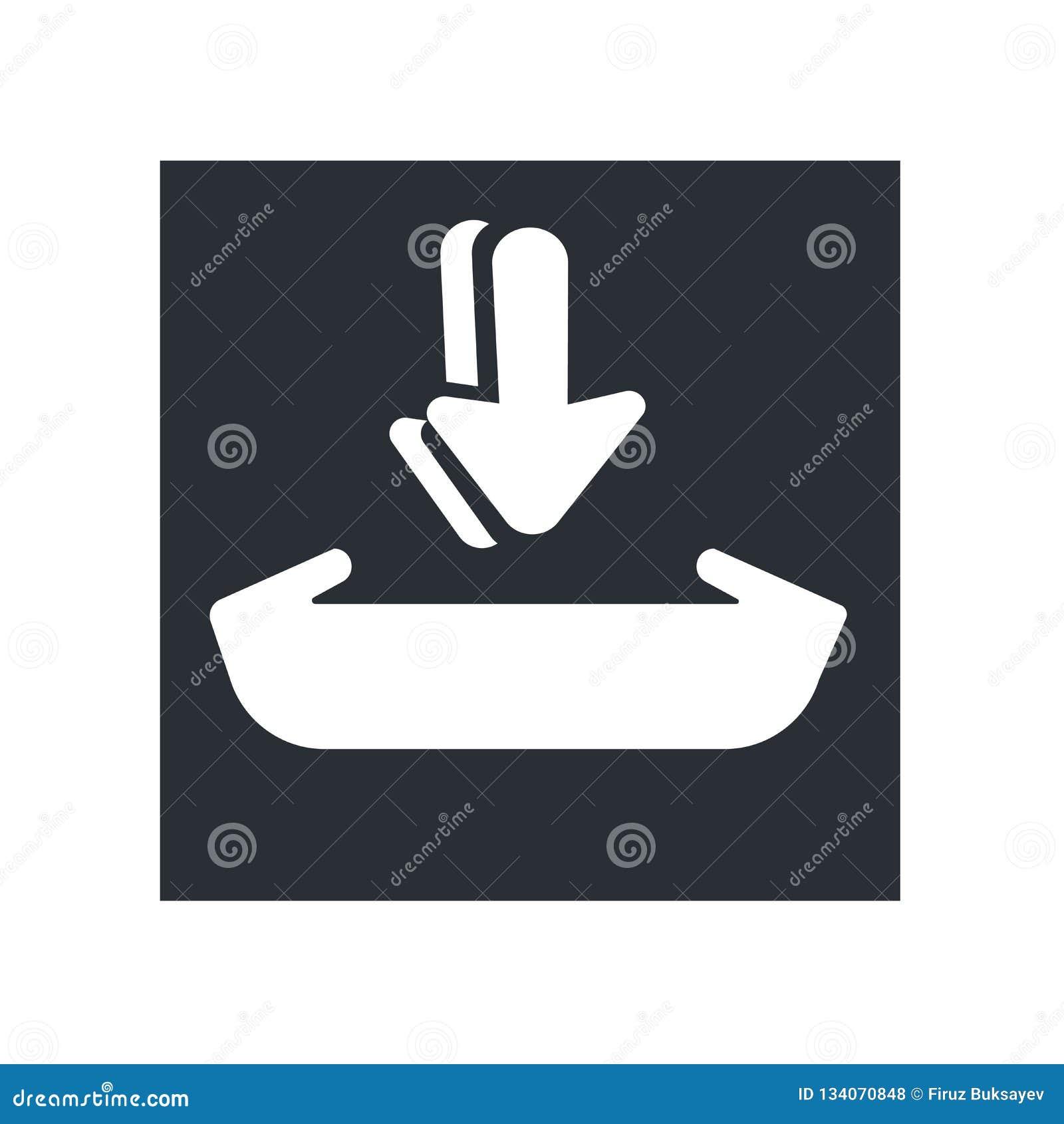 Añada a la muestra del vector del icono del carro y el símbolo aislado en el fondo blanco, añade al concepto del logotipo del car