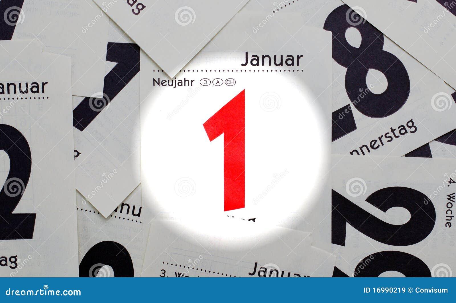 Año Nuevo - 1r de enero