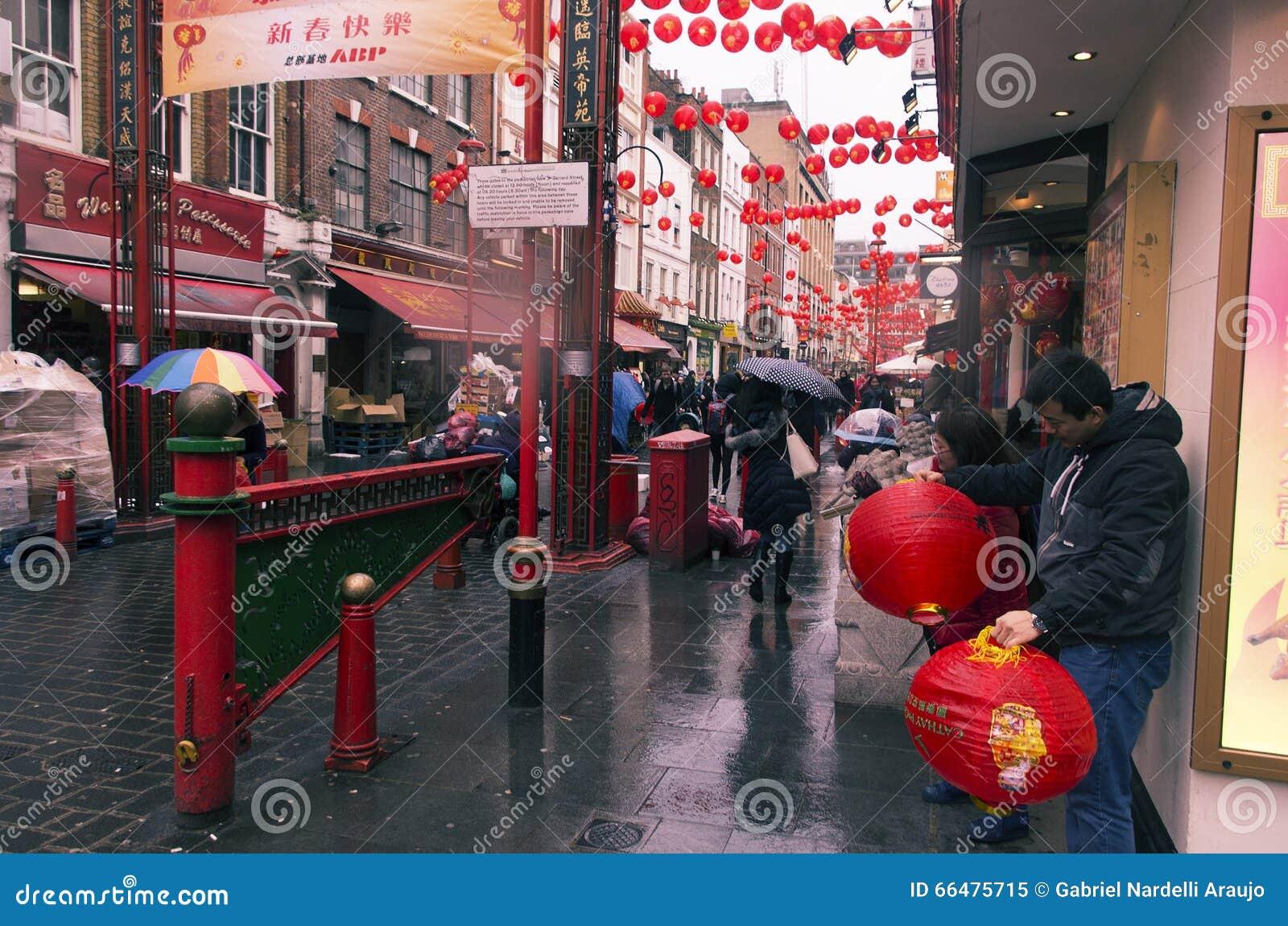 Año Nuevo chino de Londres