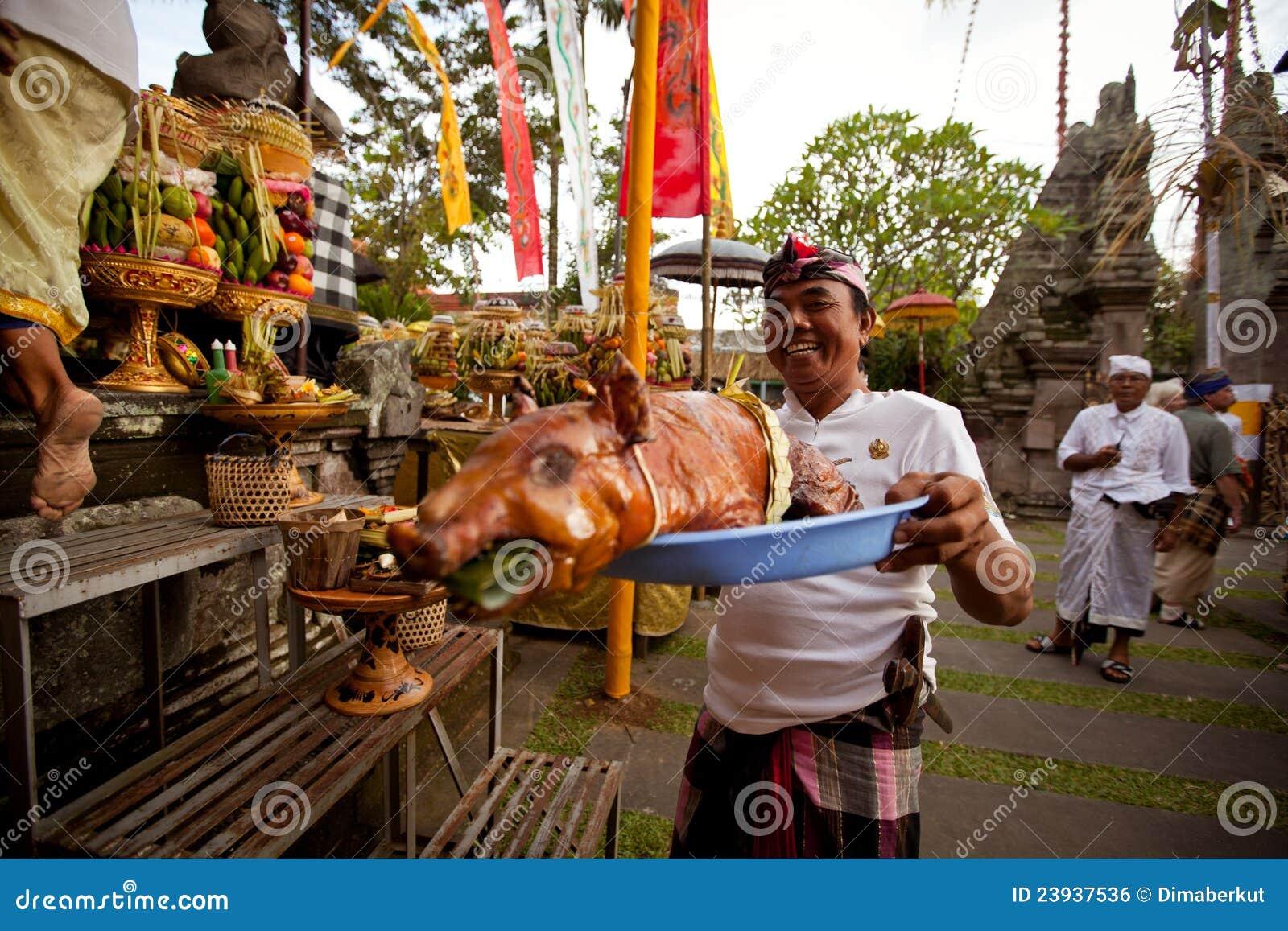 Año Nuevo del Balinese - día de silencio