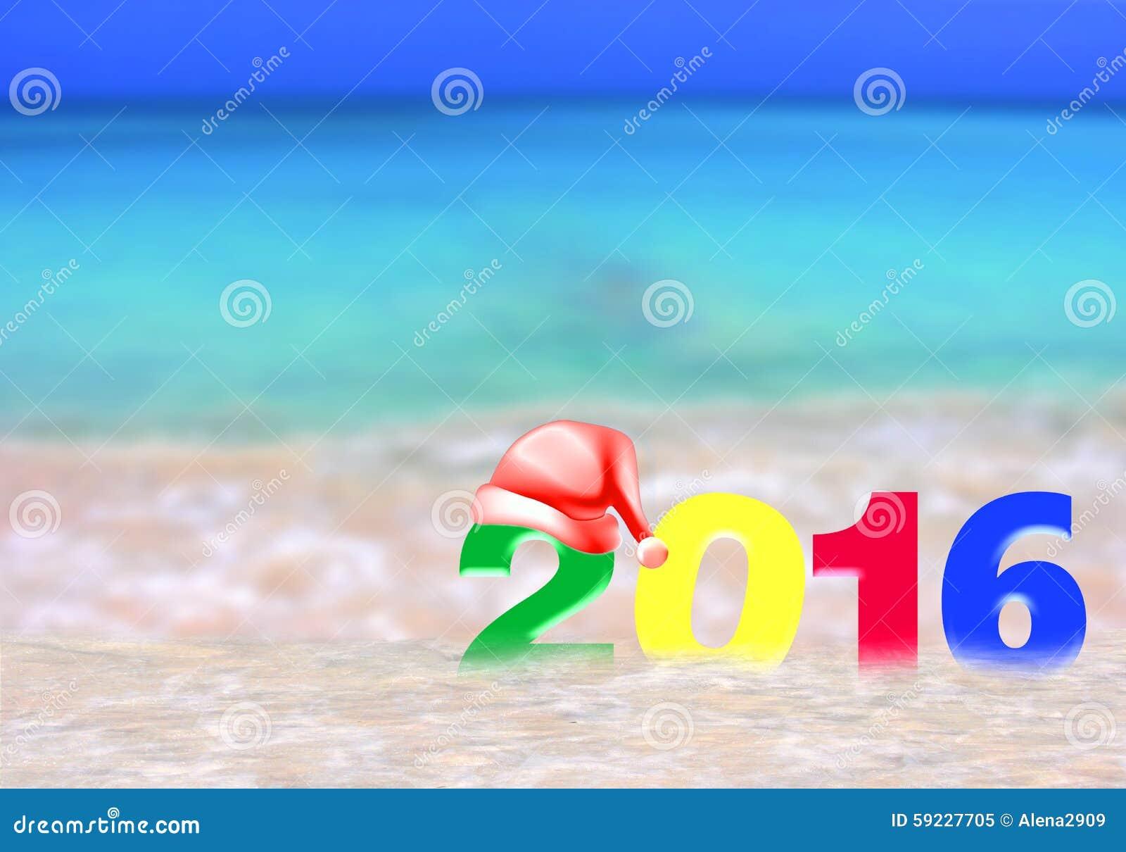 Año Nuevo multicolor 2016