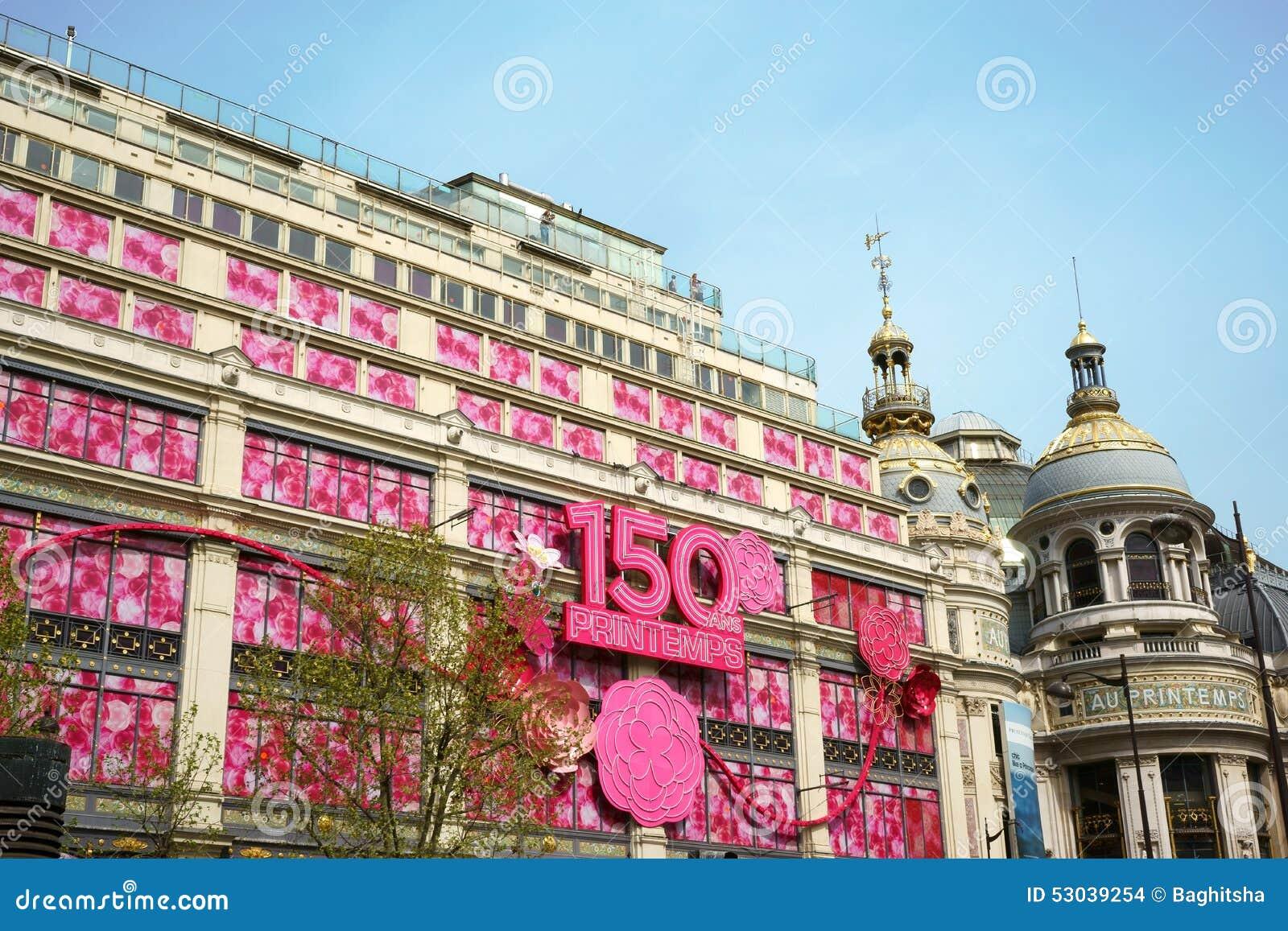150 años de Au Printemps, París