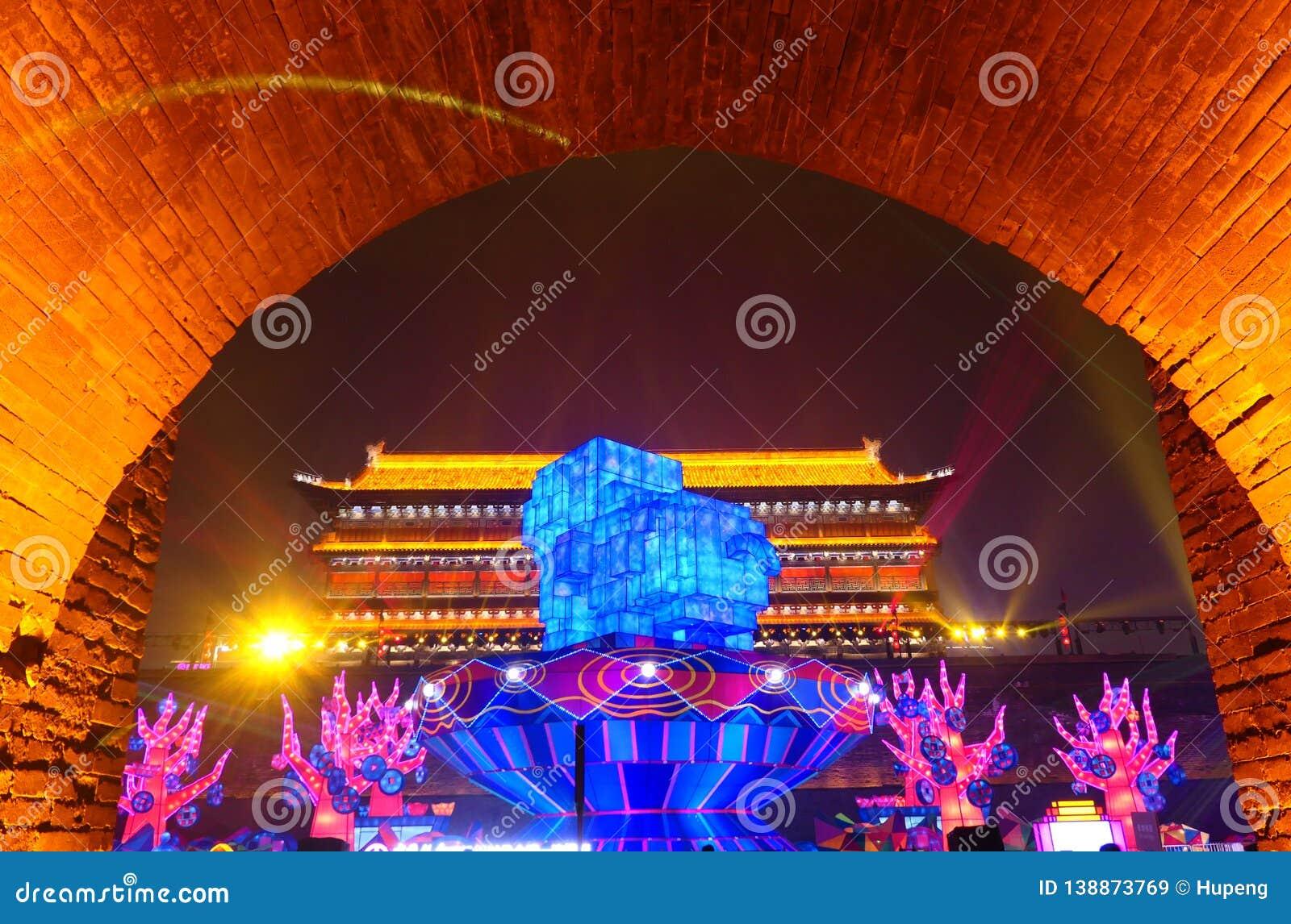 2019 Años Nuevos chinos en Xian