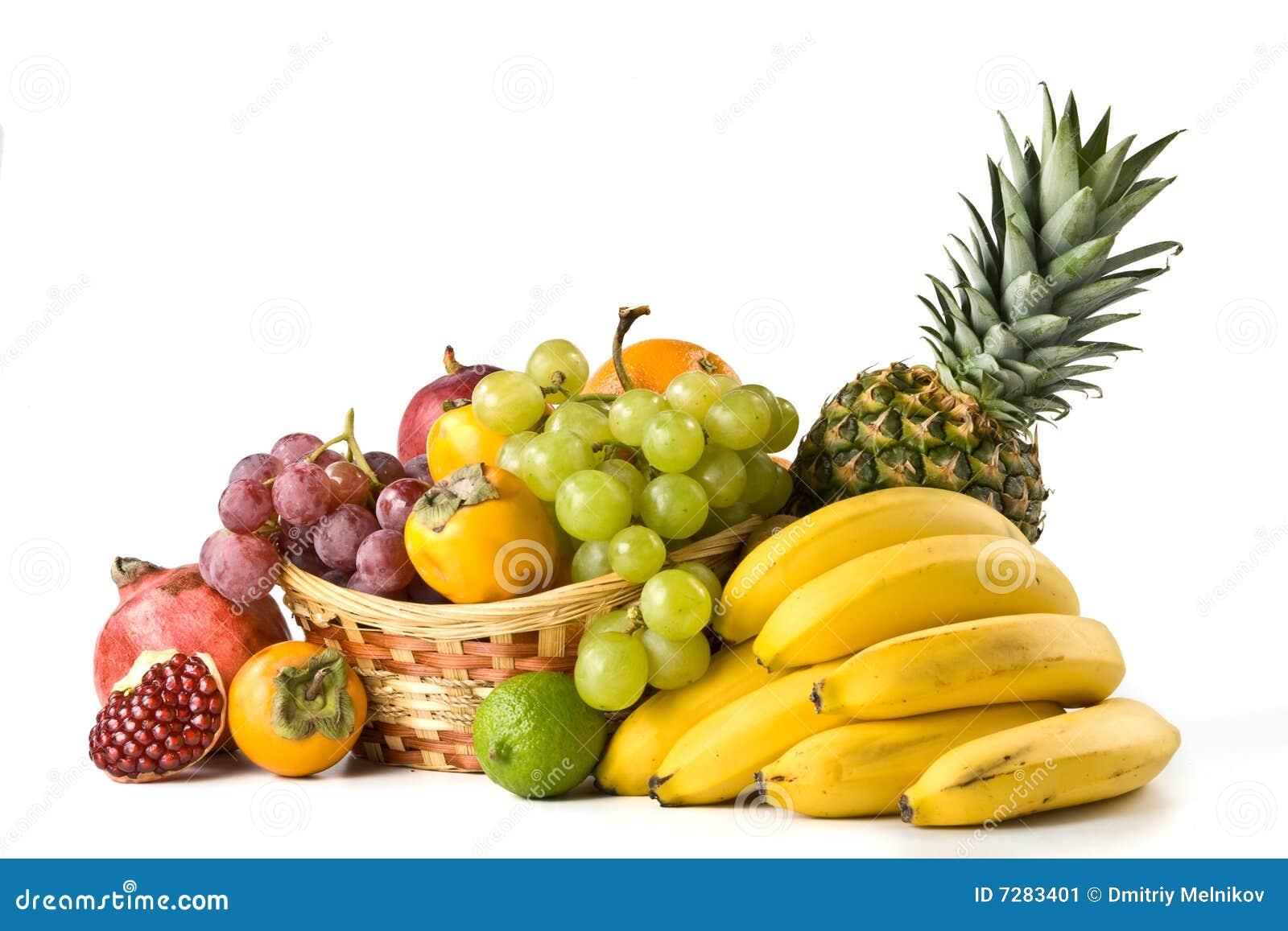 Aún-vida con las frutas