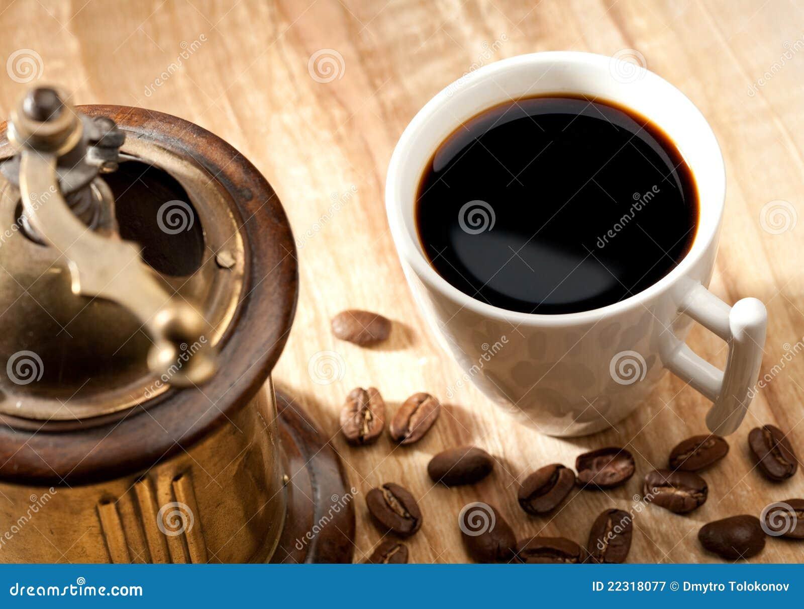 Aún-vida del café