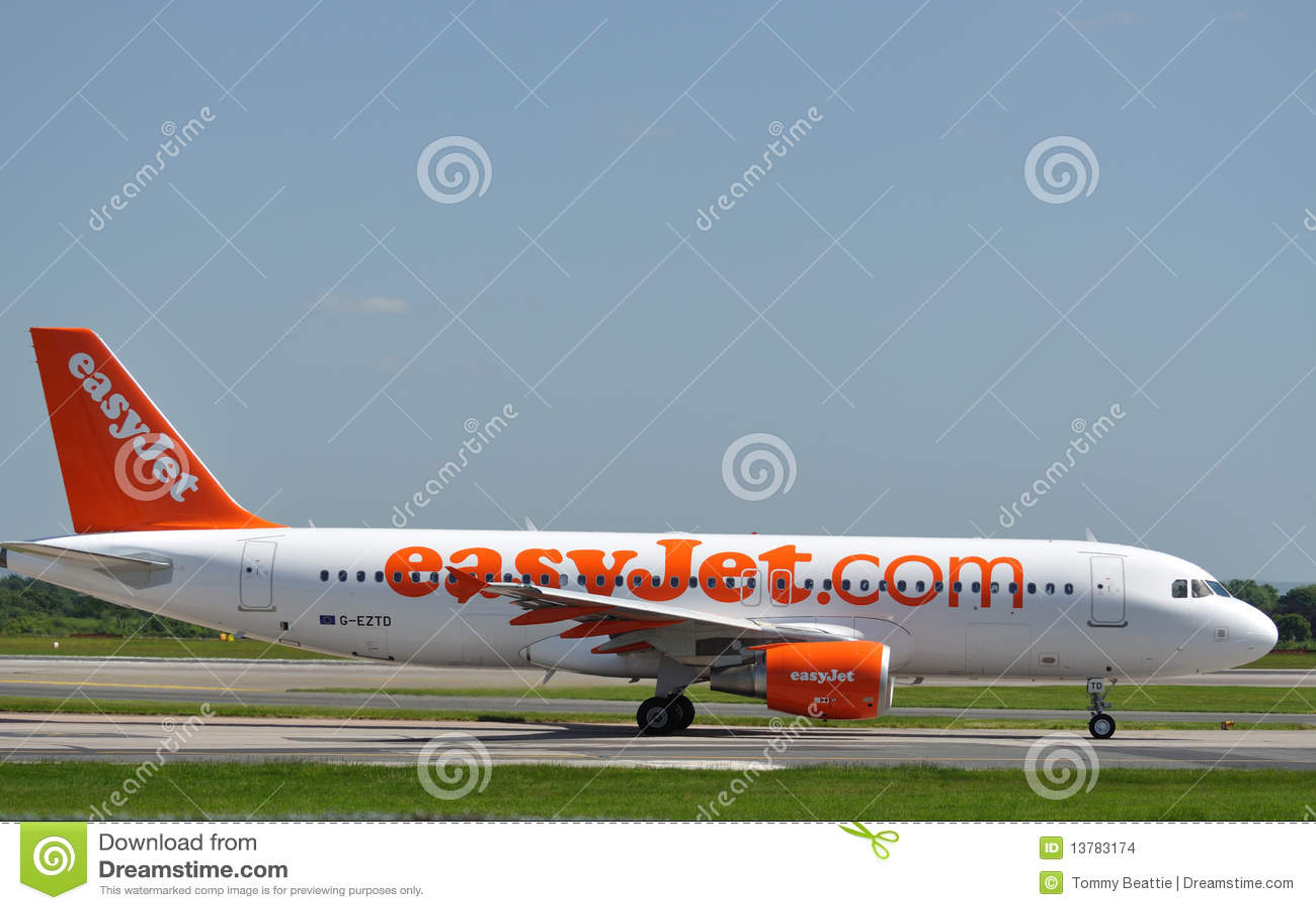 A320空中巴士easyjet