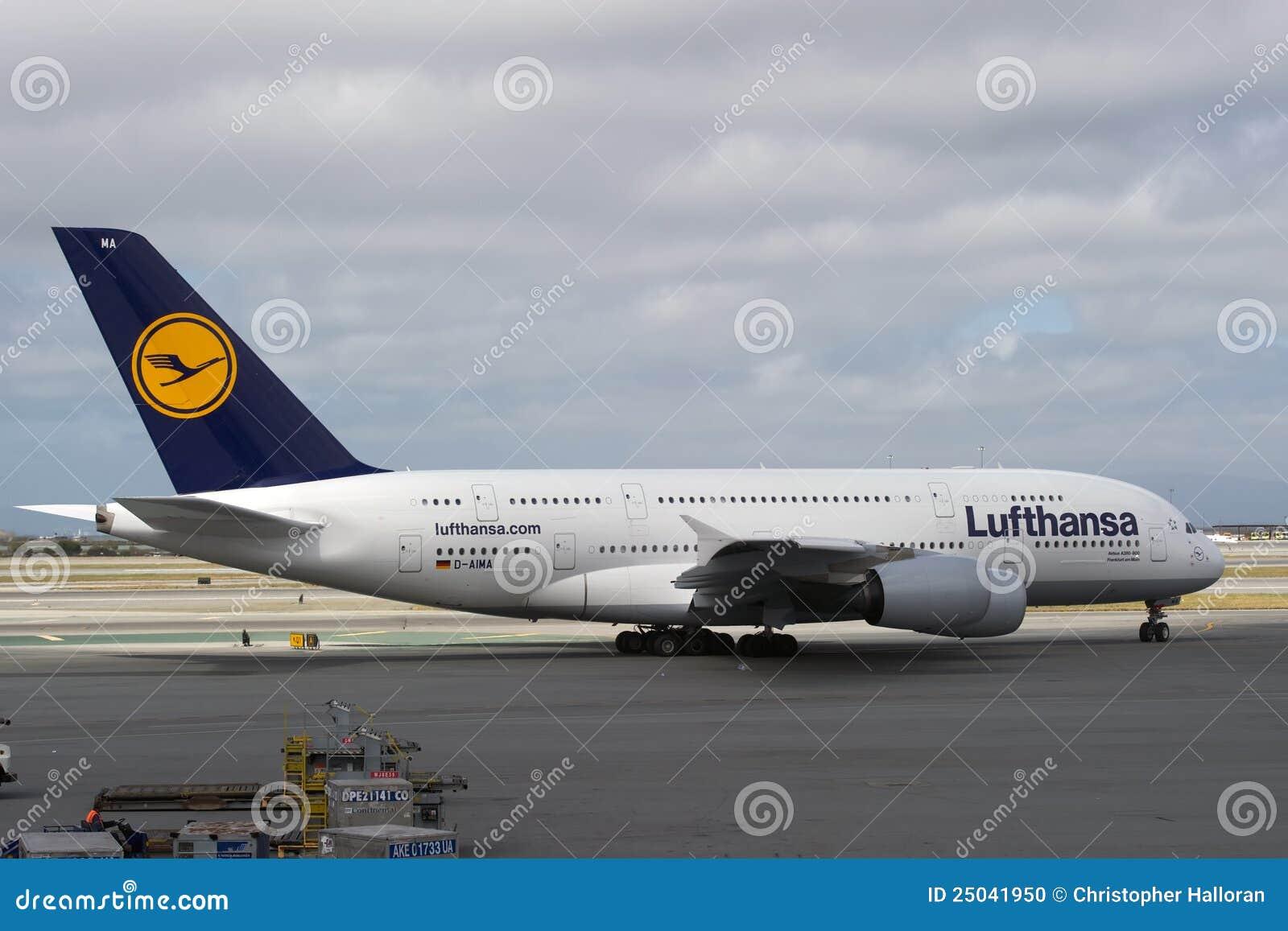 A380 flygbuss lufthansa