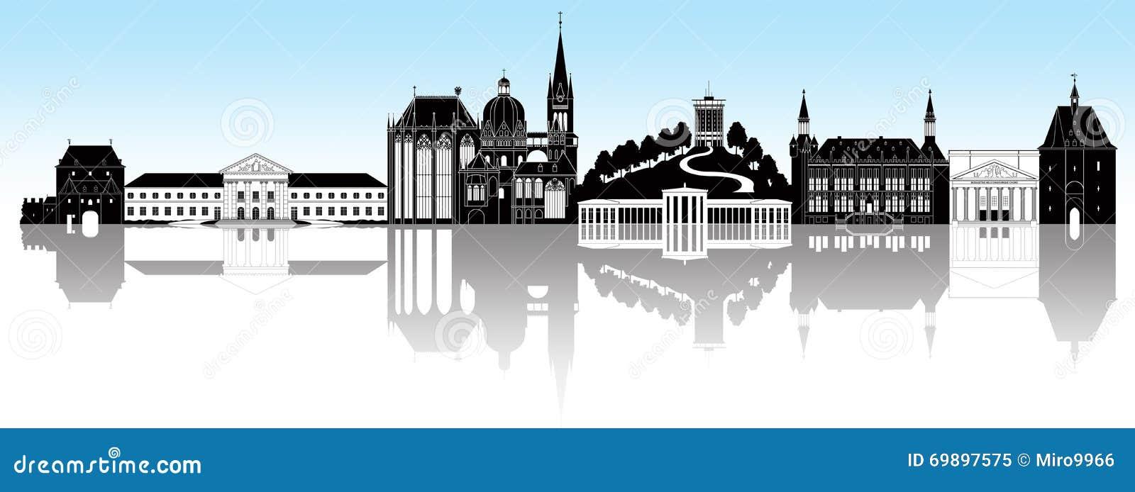 Aachen linia horyzontu