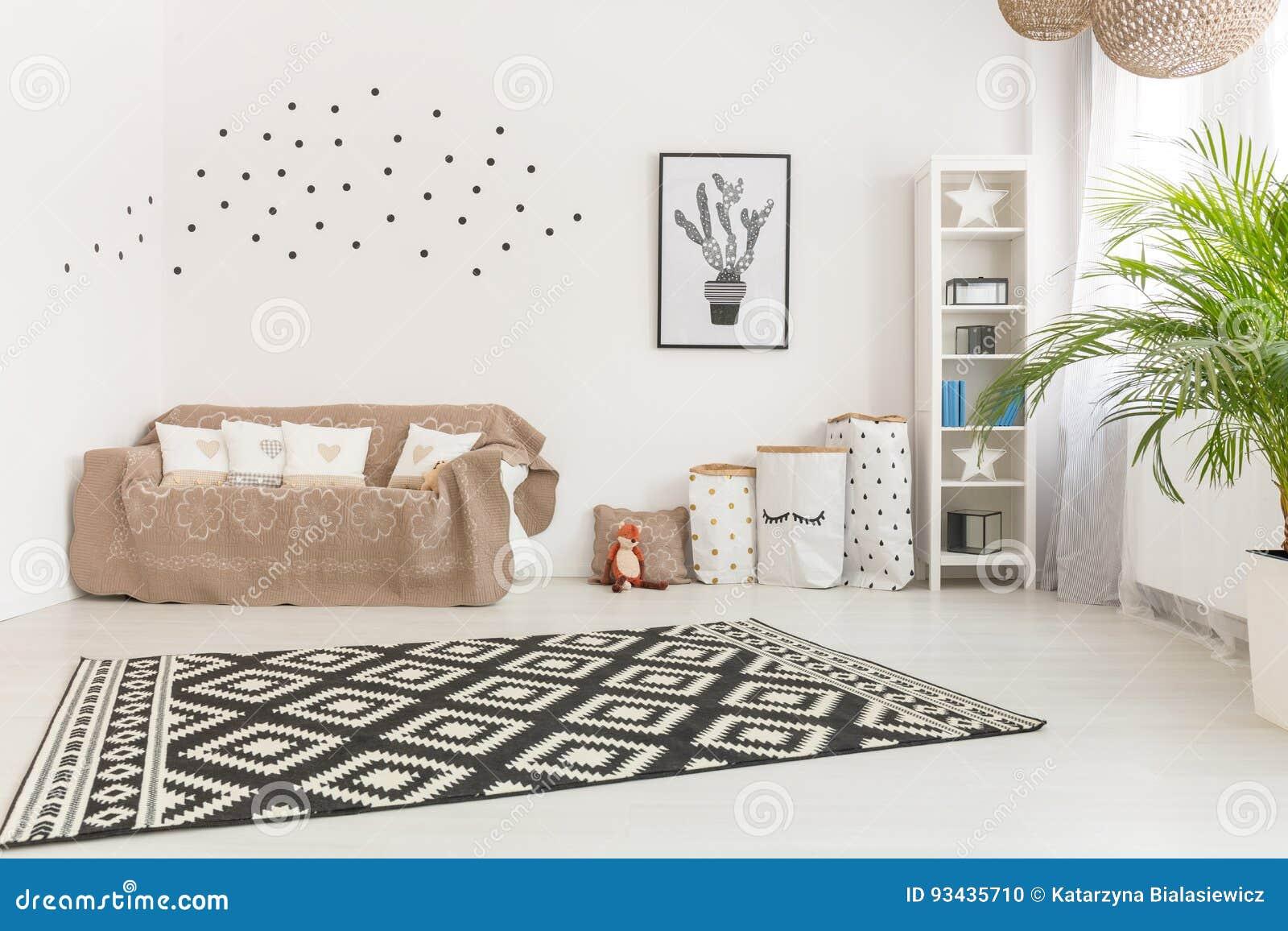 Aanbiddelijke minimalistic babyruimte