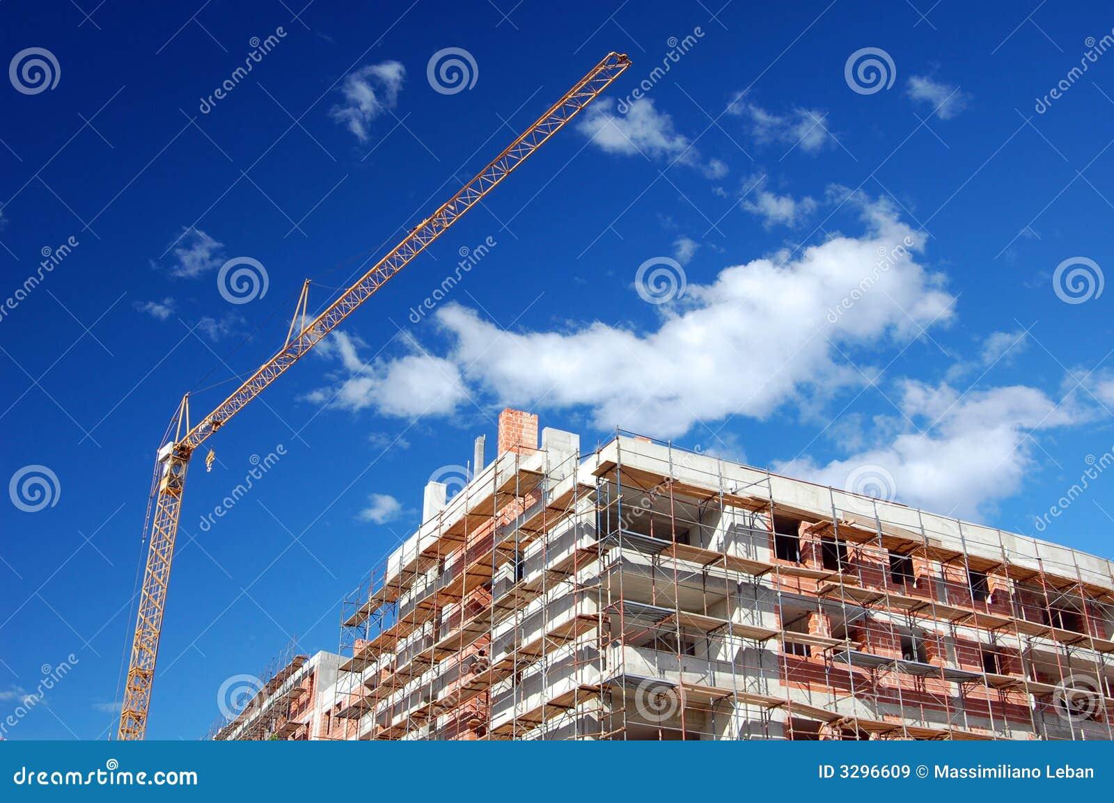 In aanbouw de bouw