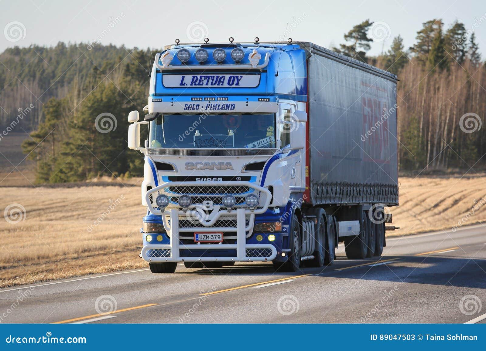 Aangepaste Vervoer van de de Ladingsvrachtwagen van Scania R500