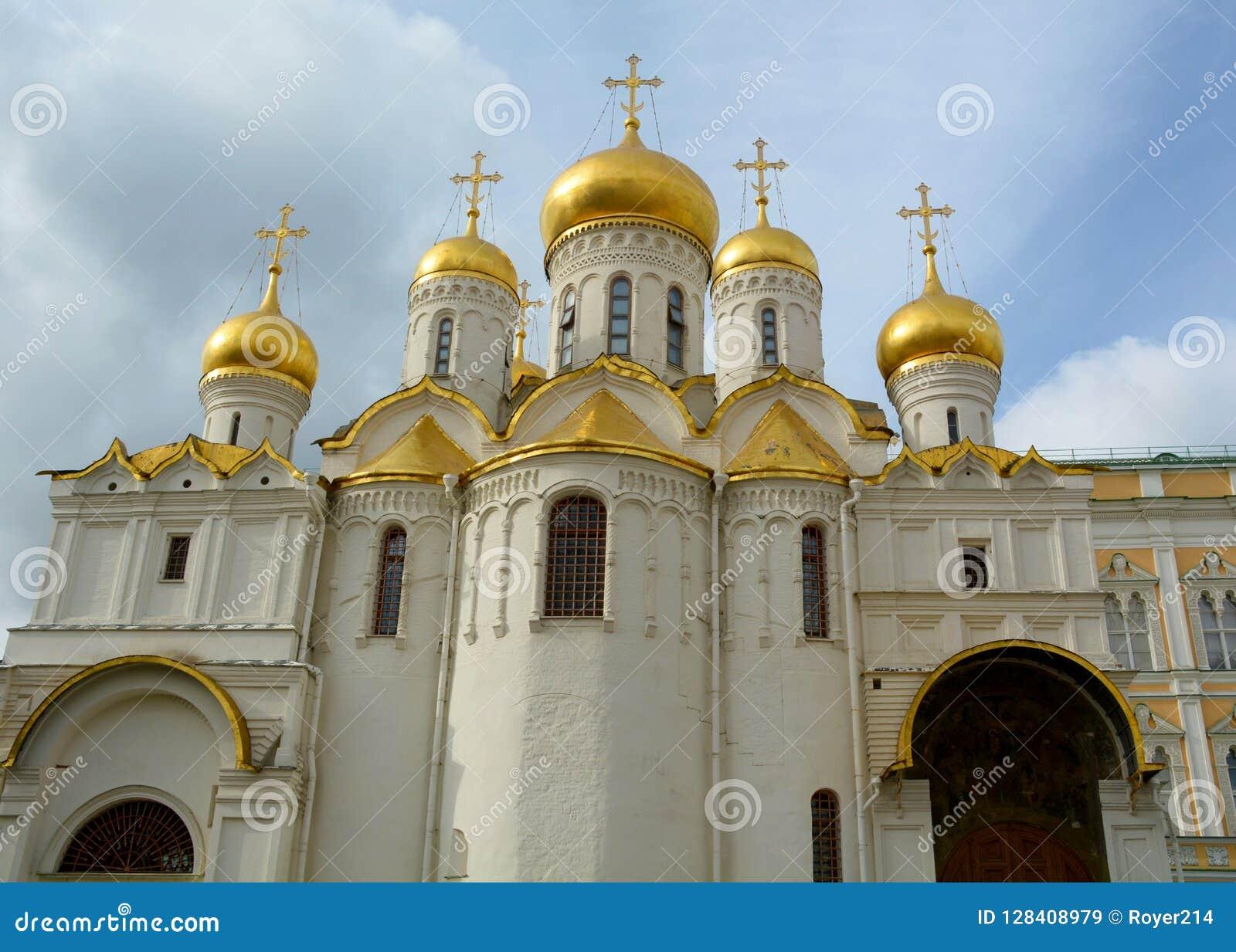 Aankondigingskathedraal in het Kremlin, Moskou