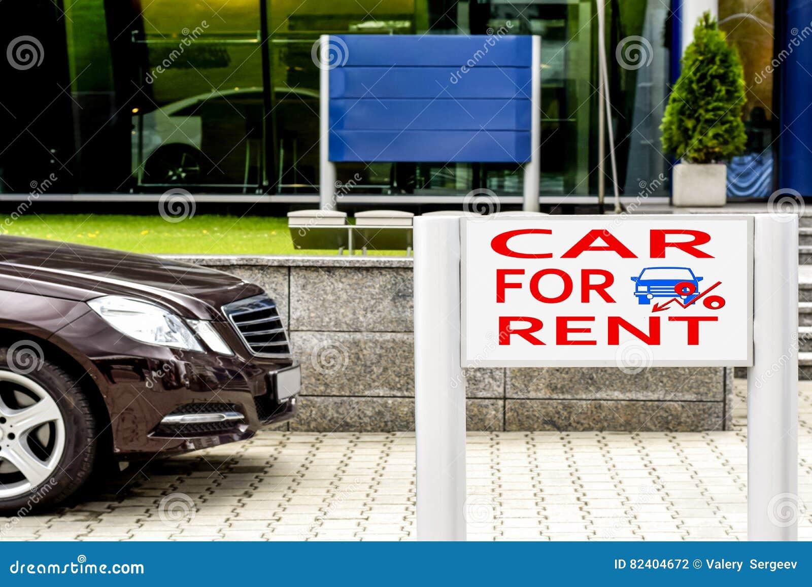 Aanplakbord de verkoop van de reclameauto stock foto afbeelding 82404672 - Zinkt de verkoop ...