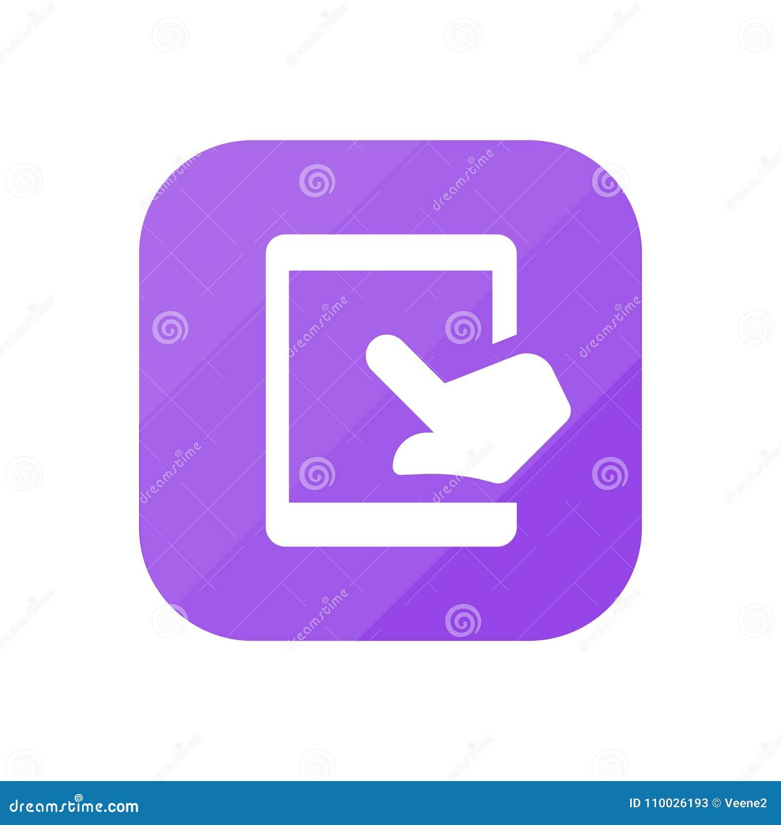 Aanrakingslusje - App Pictogram