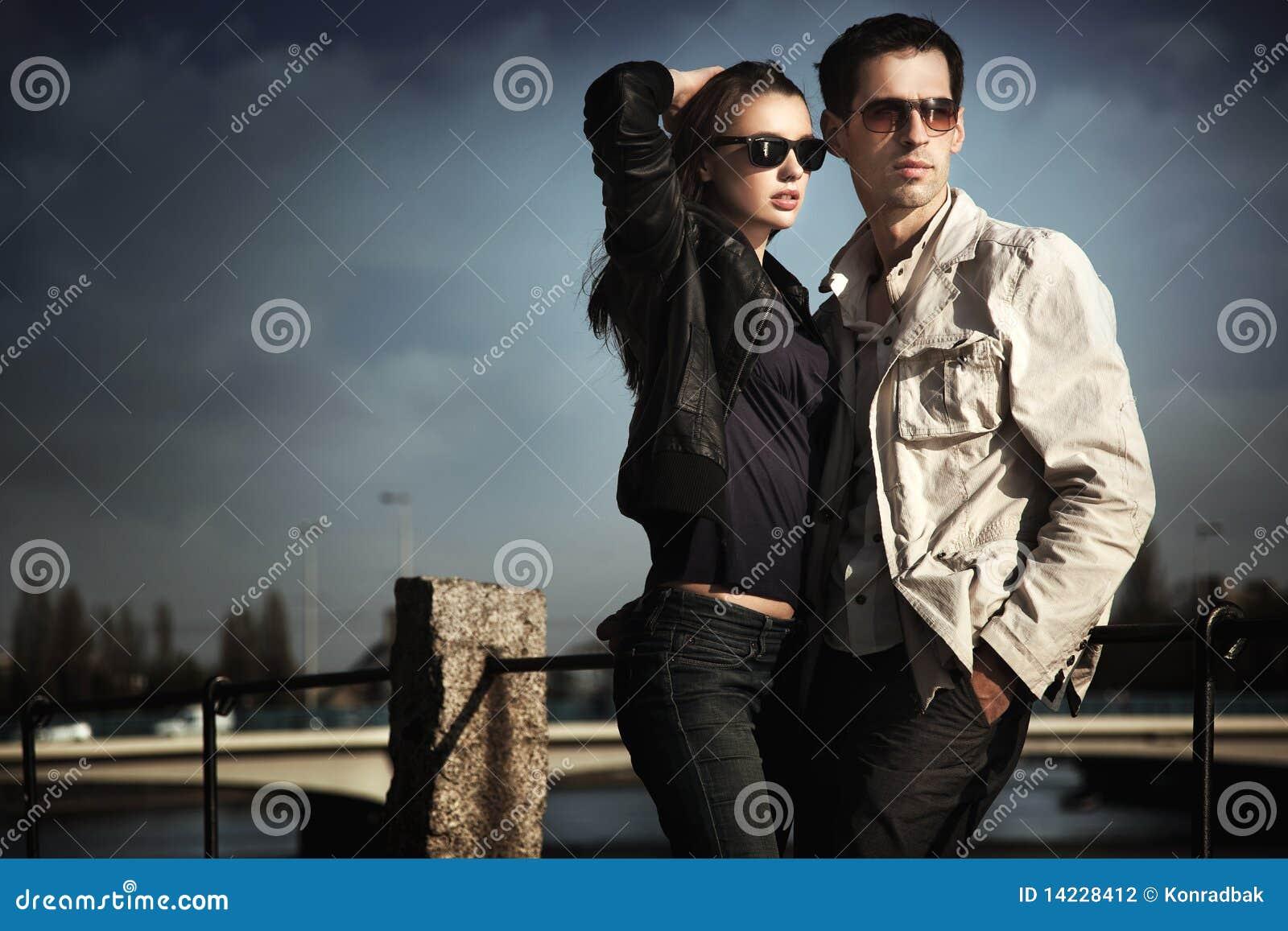 Aantrekkelijk jong paar