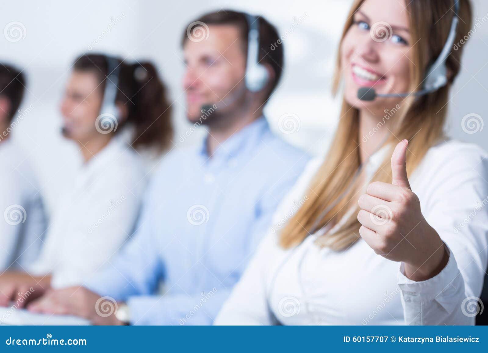 Aantrekkelijke call centreexploitant