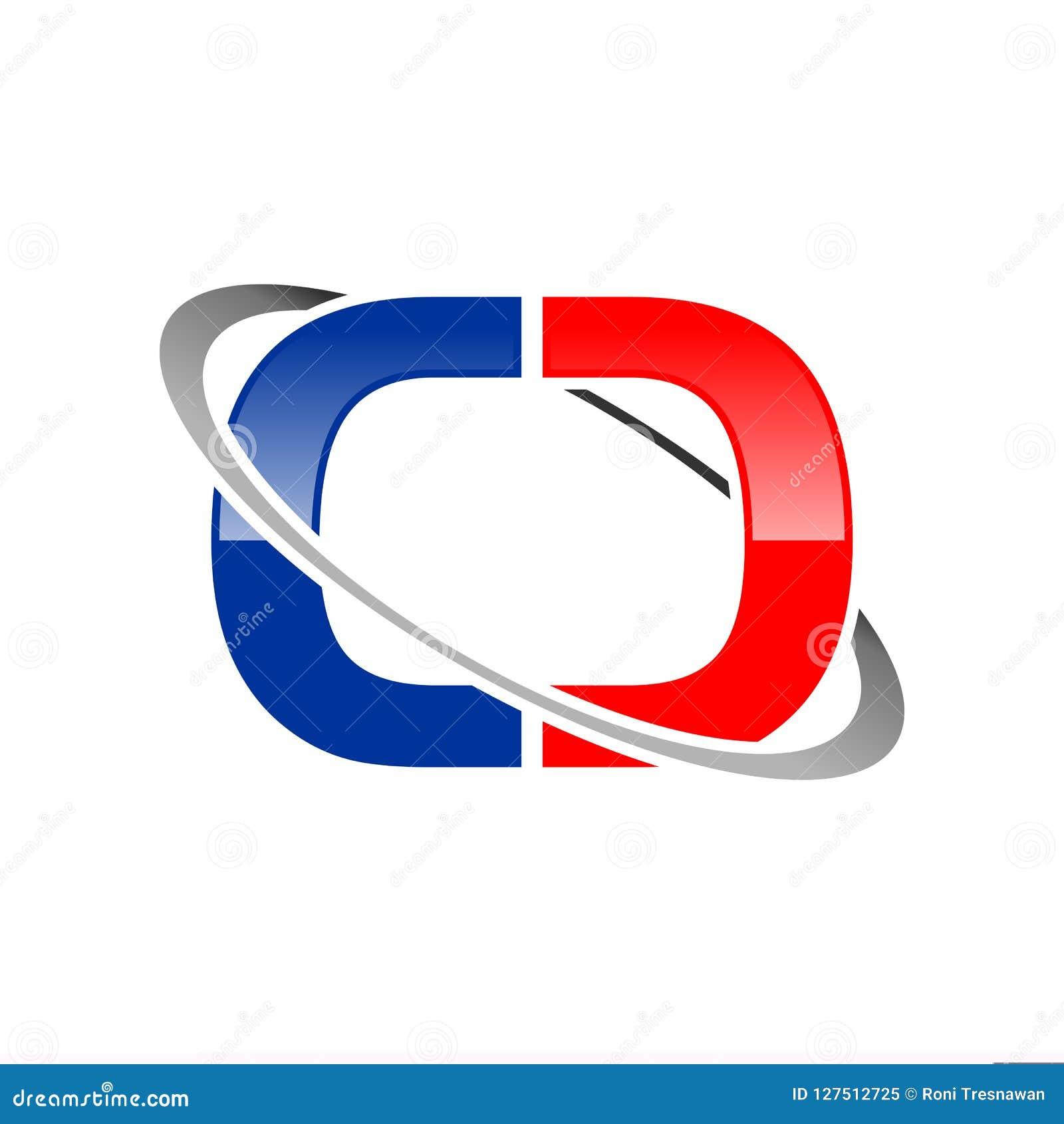 Aanvankelijk de Media van CC Lettermark Globaal Satellietsymbool Grafisch Ontwerp