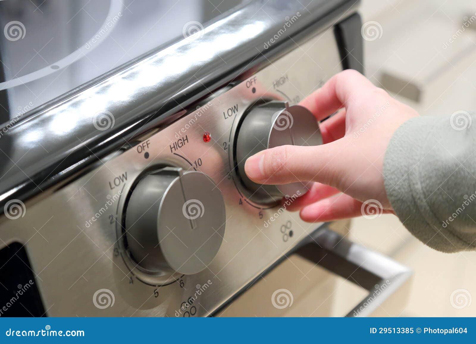 Aanzettend oven