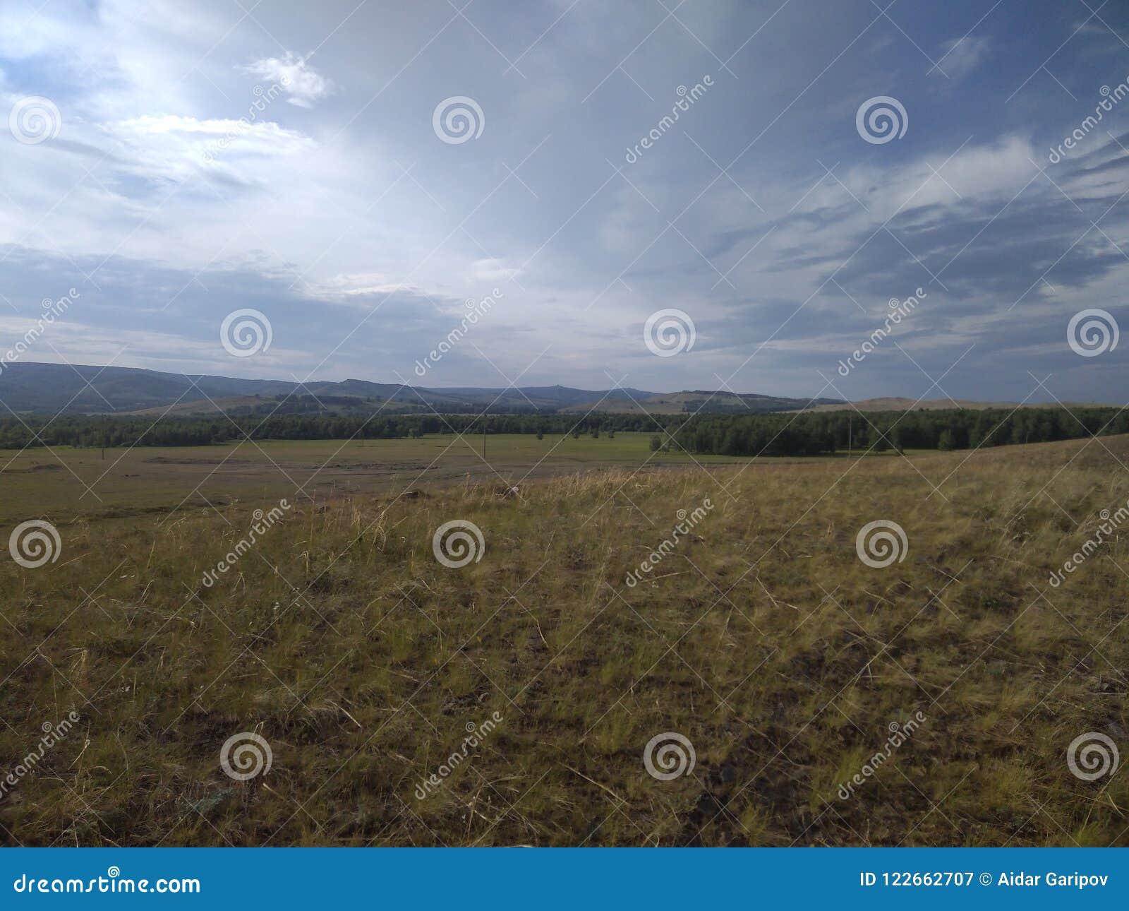 Aard en landschap in de verre provincies van Rusland