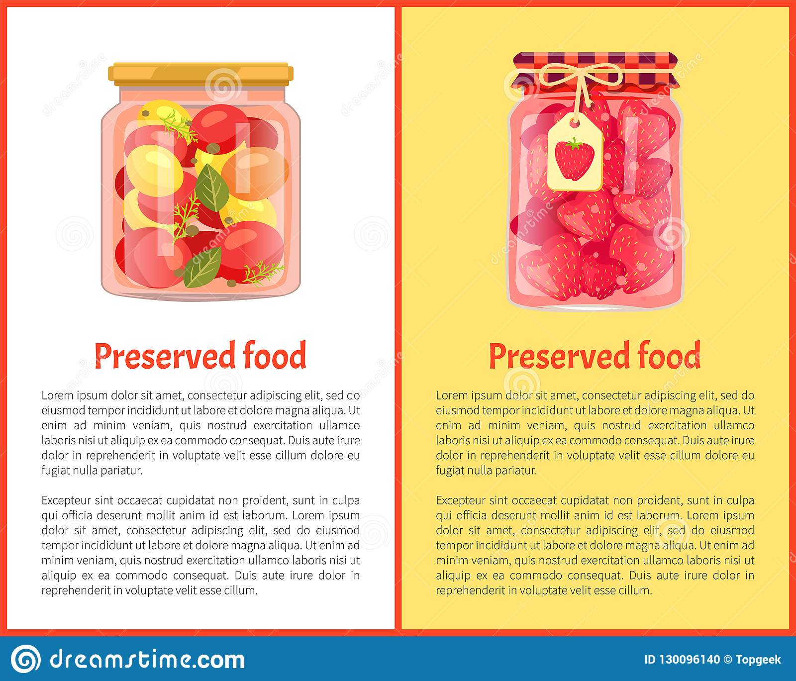 Aardbeijam of Compote en Tomaten, Glaskruiken