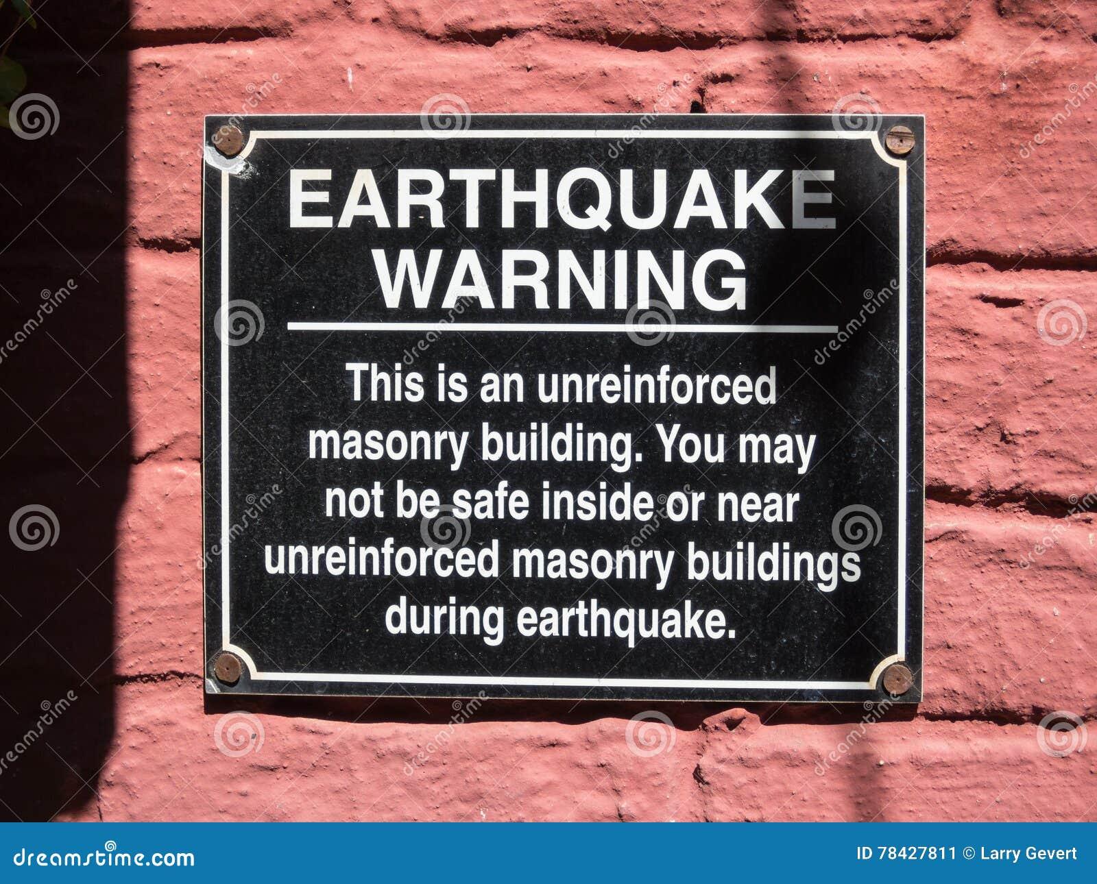 Aardbevingswaarschuwing