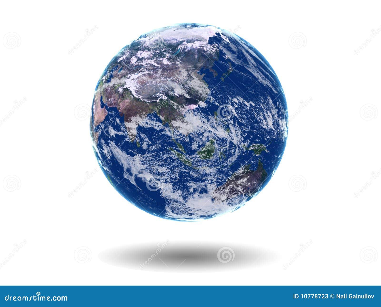 Aarde Azië Australië