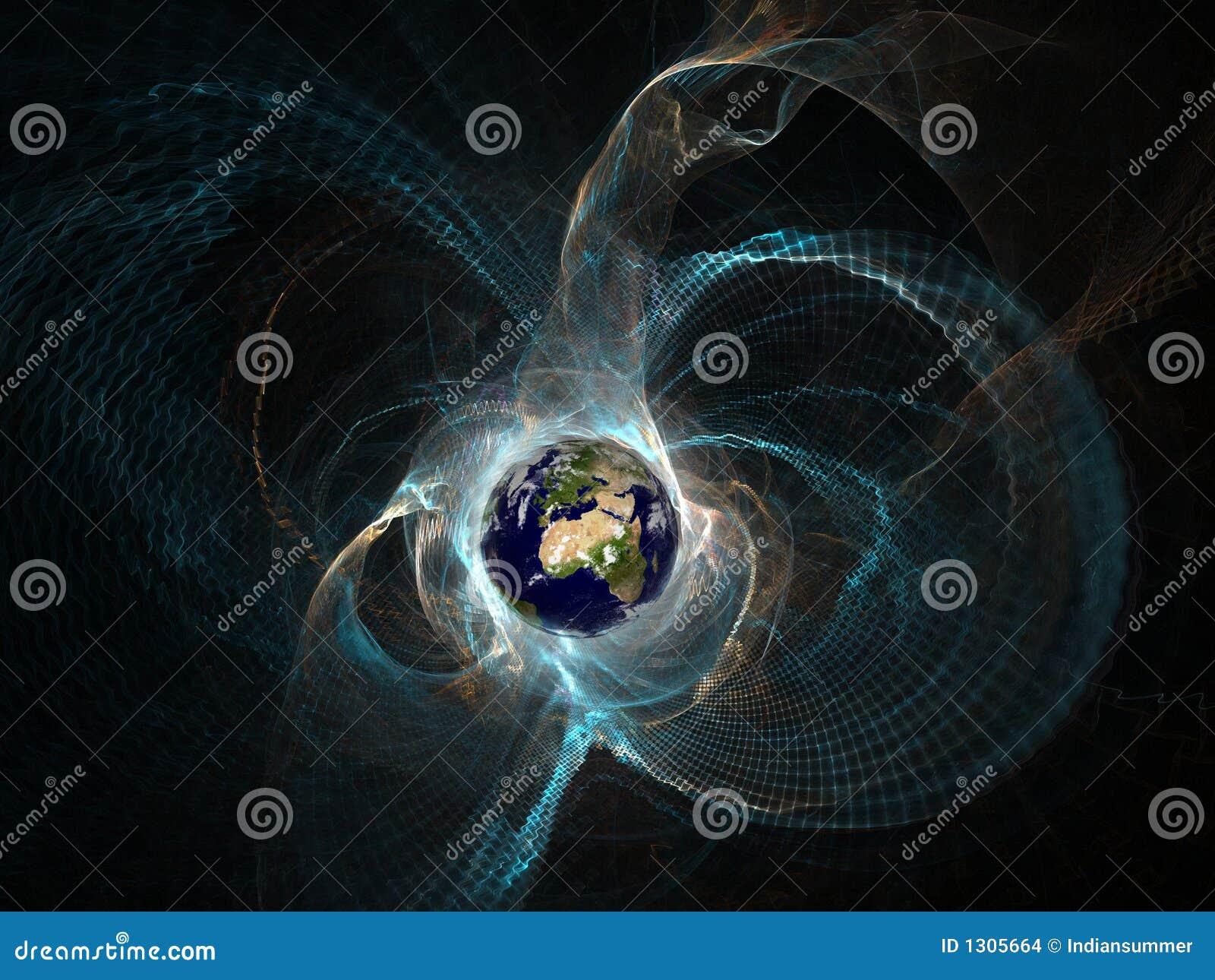 Aarde in het epicentrum