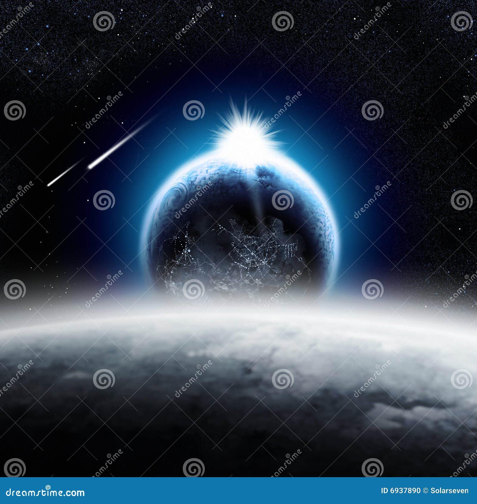 Aarde over de Maan