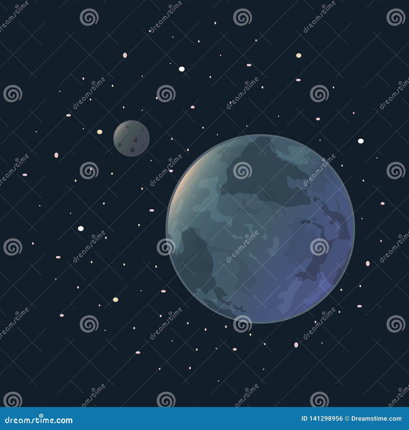 Aarde van sterren en maan