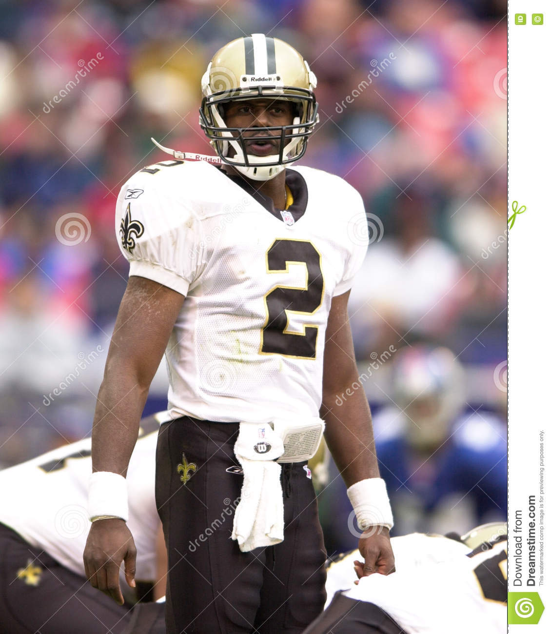 Aaron Brooks New Orleans Saints Editorial Photography