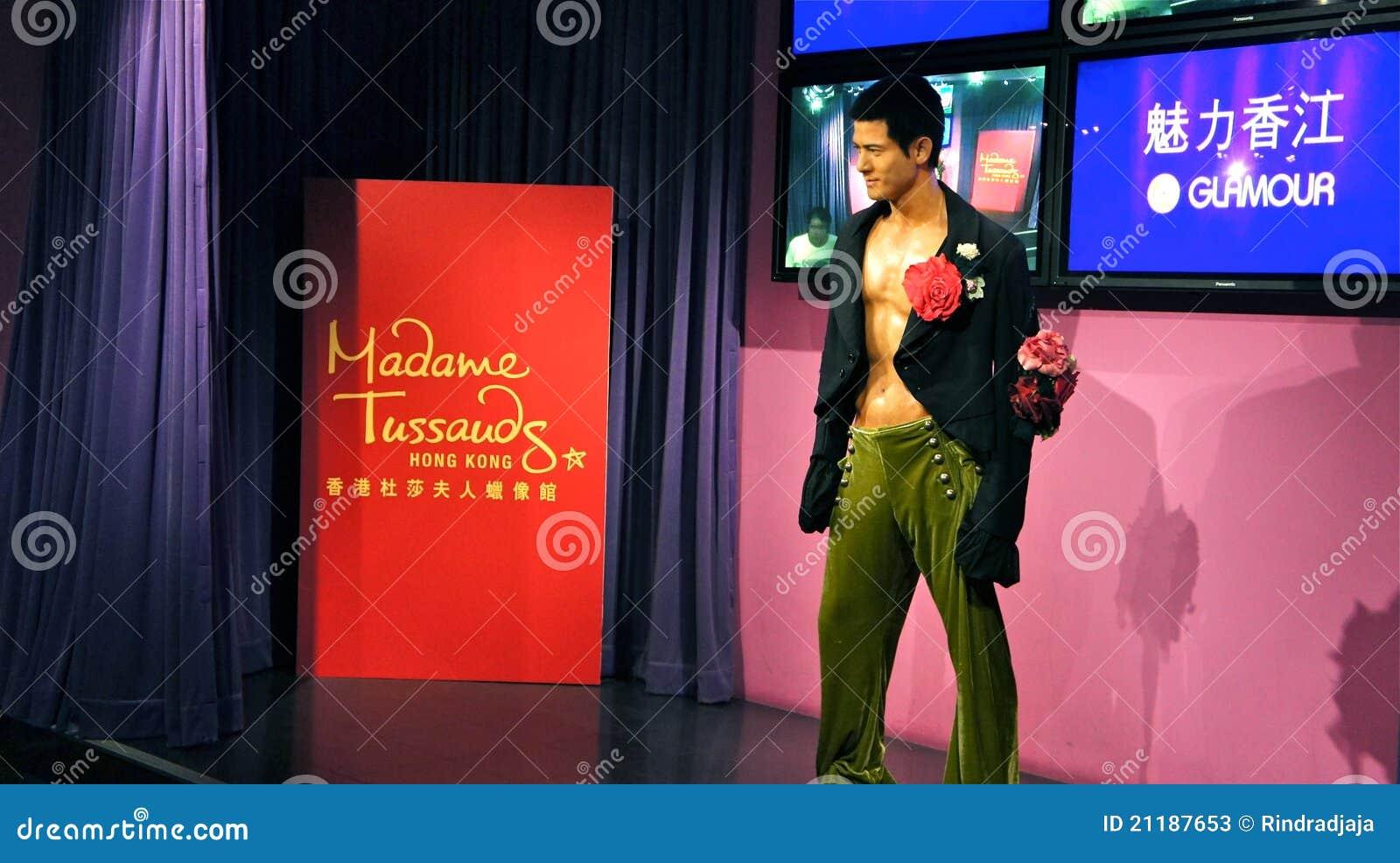Aaron Kwok in Madame Tussauds Hong Kong