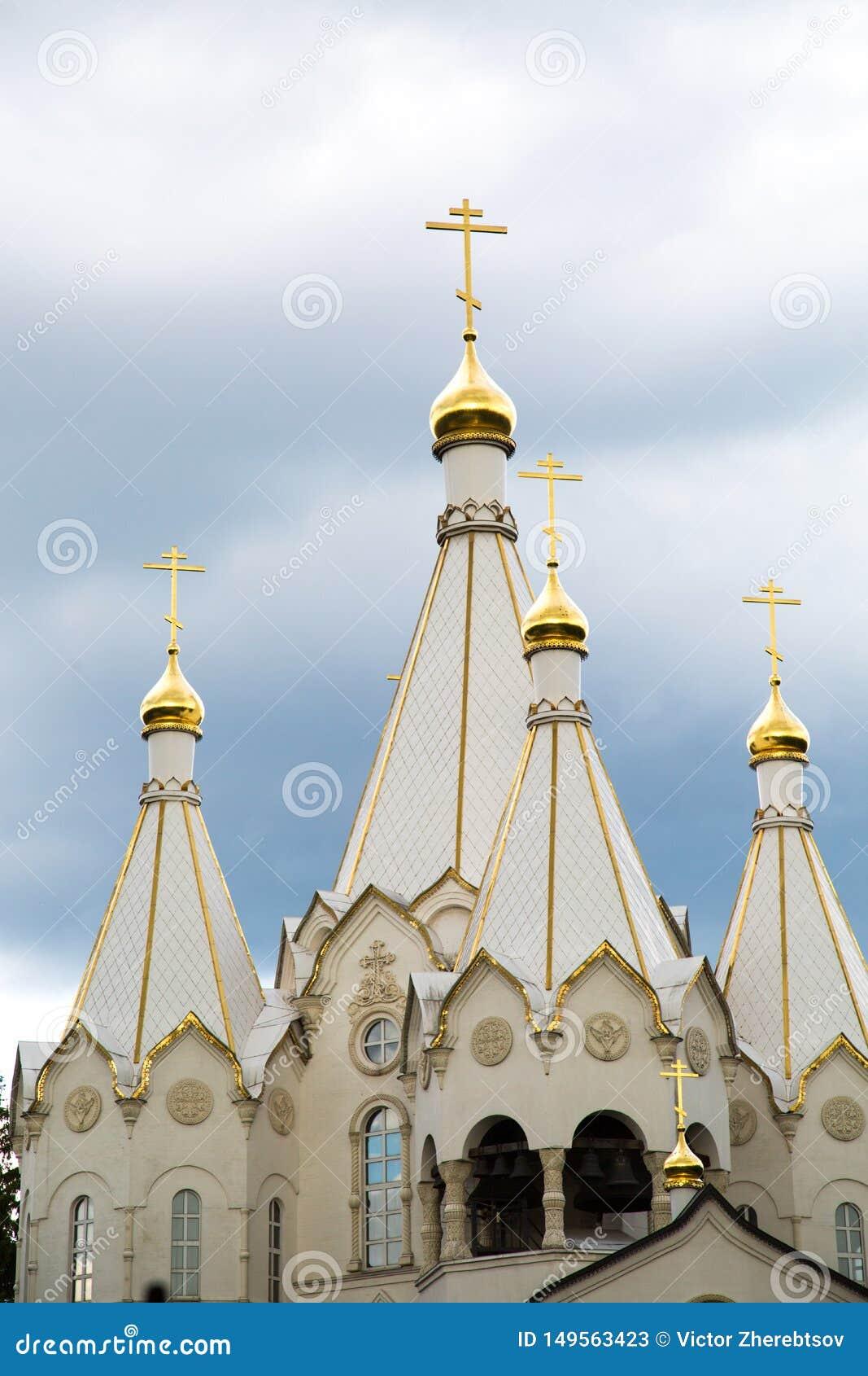 Ab?bada da igreja dos m?rtir e dos Confessors novos da ressurrei??o de R?ssia no Butovo