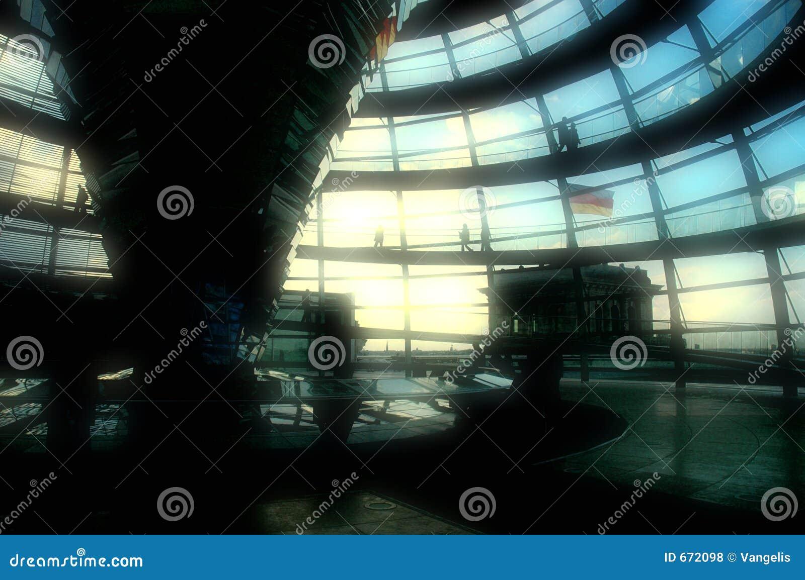 Abóbada de Reichstag - Berlim