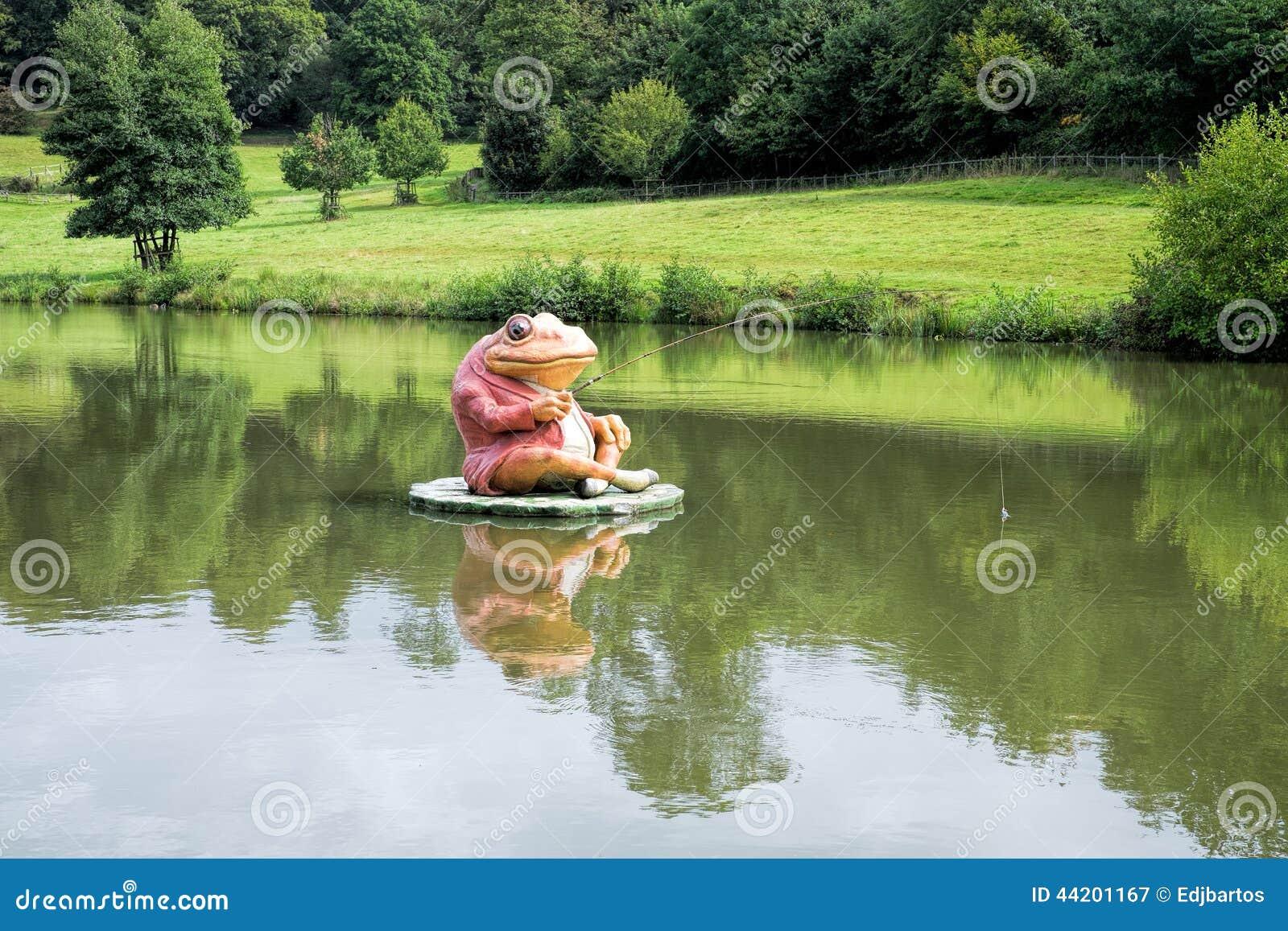 Żaba połów