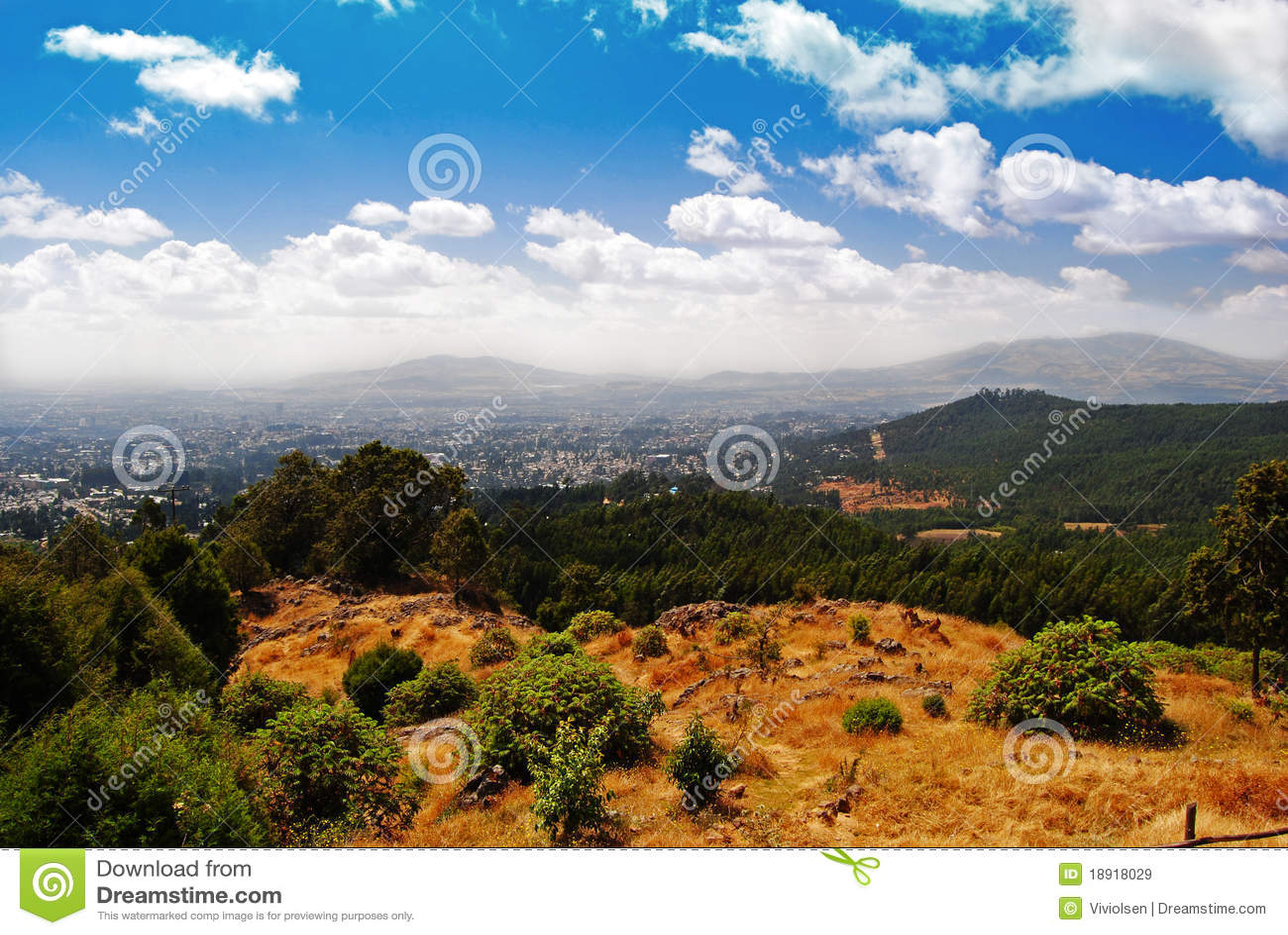 Ababa Addis widok