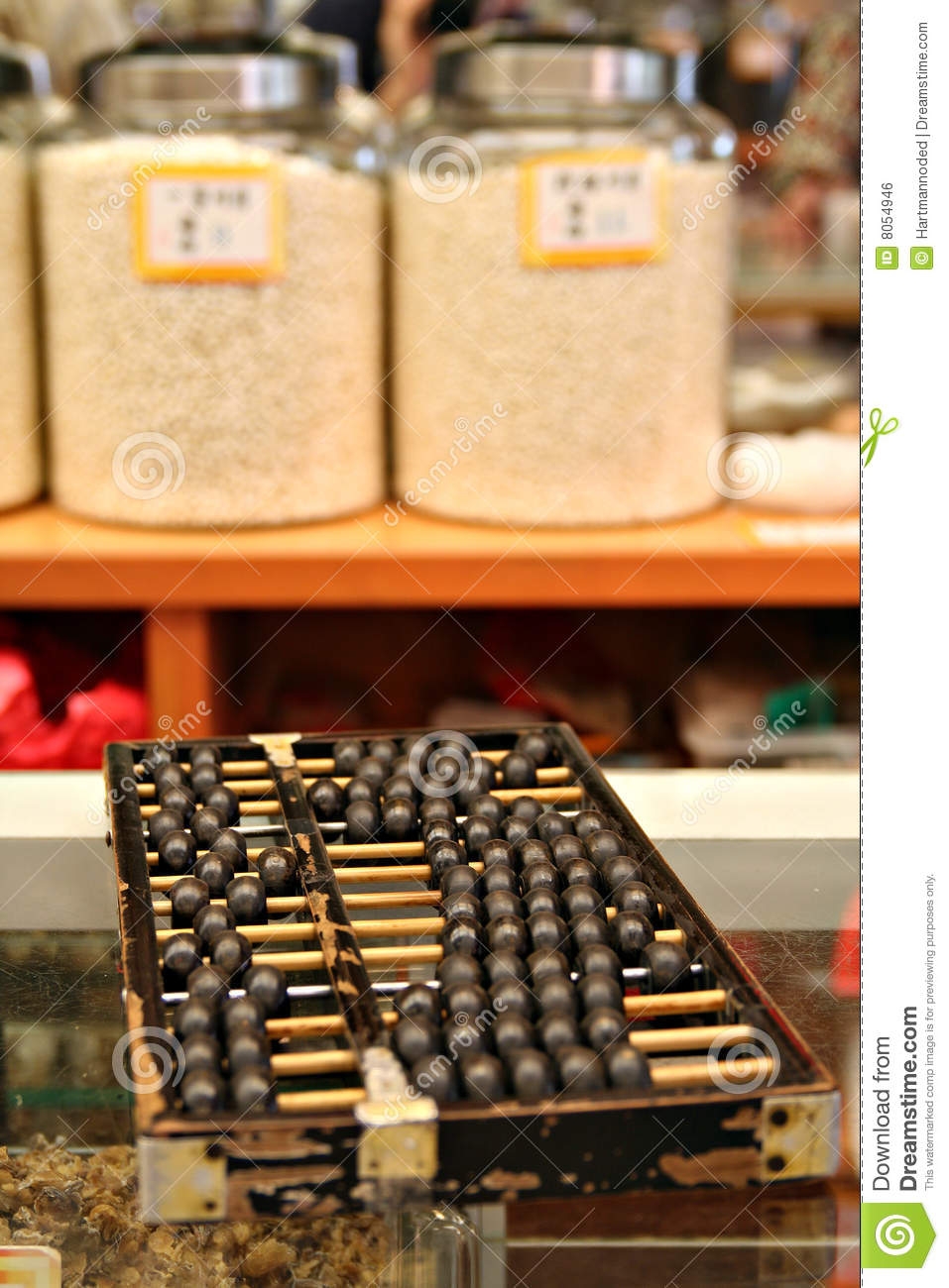 Abacus in china town royalty free stock image image 8054946 for Abacus cuisine of china