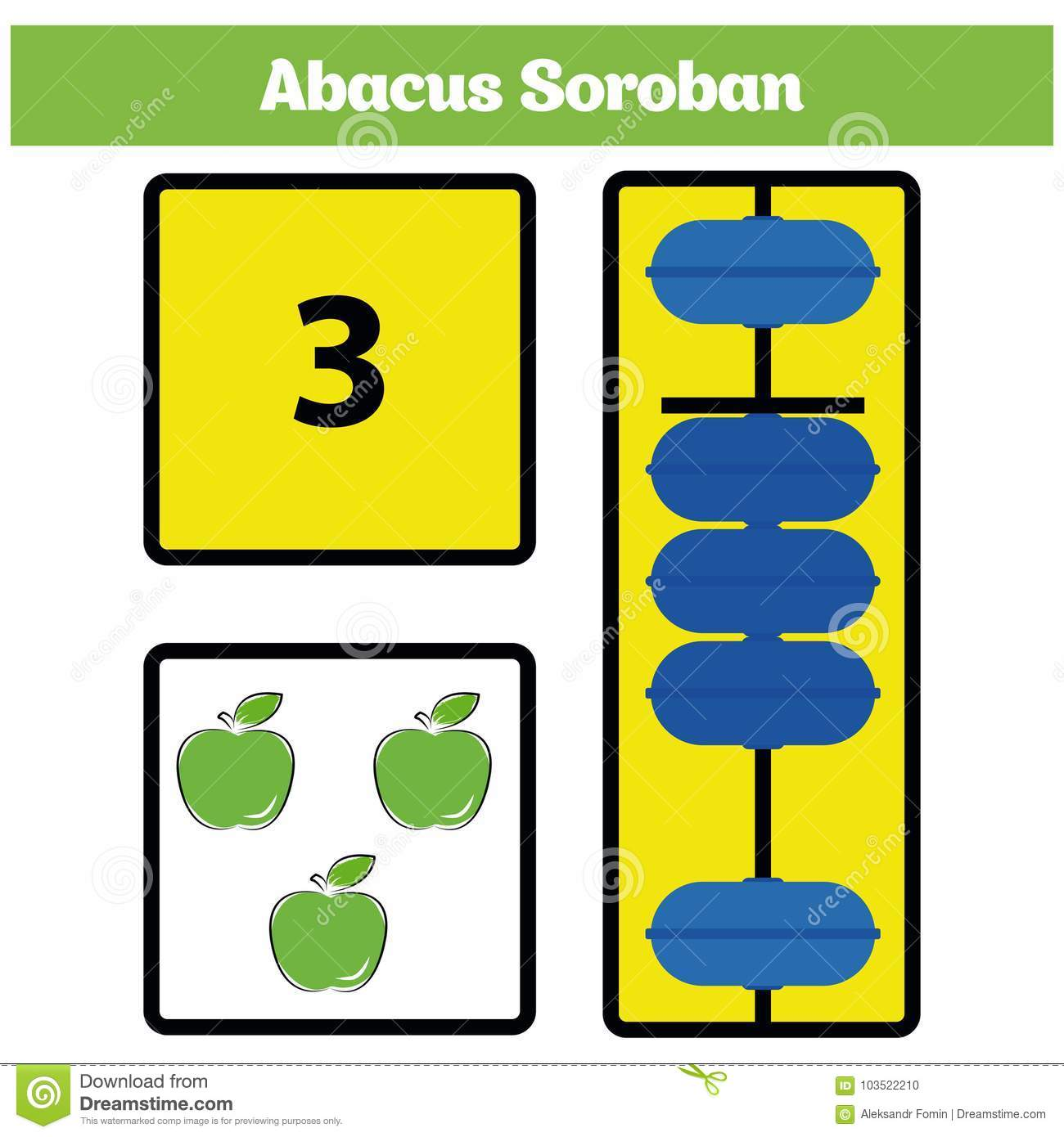 abacus soroban kids learn numbers with abacus math worksheet for  abacus soroban kids learn numbers with abacus math worksheet for children