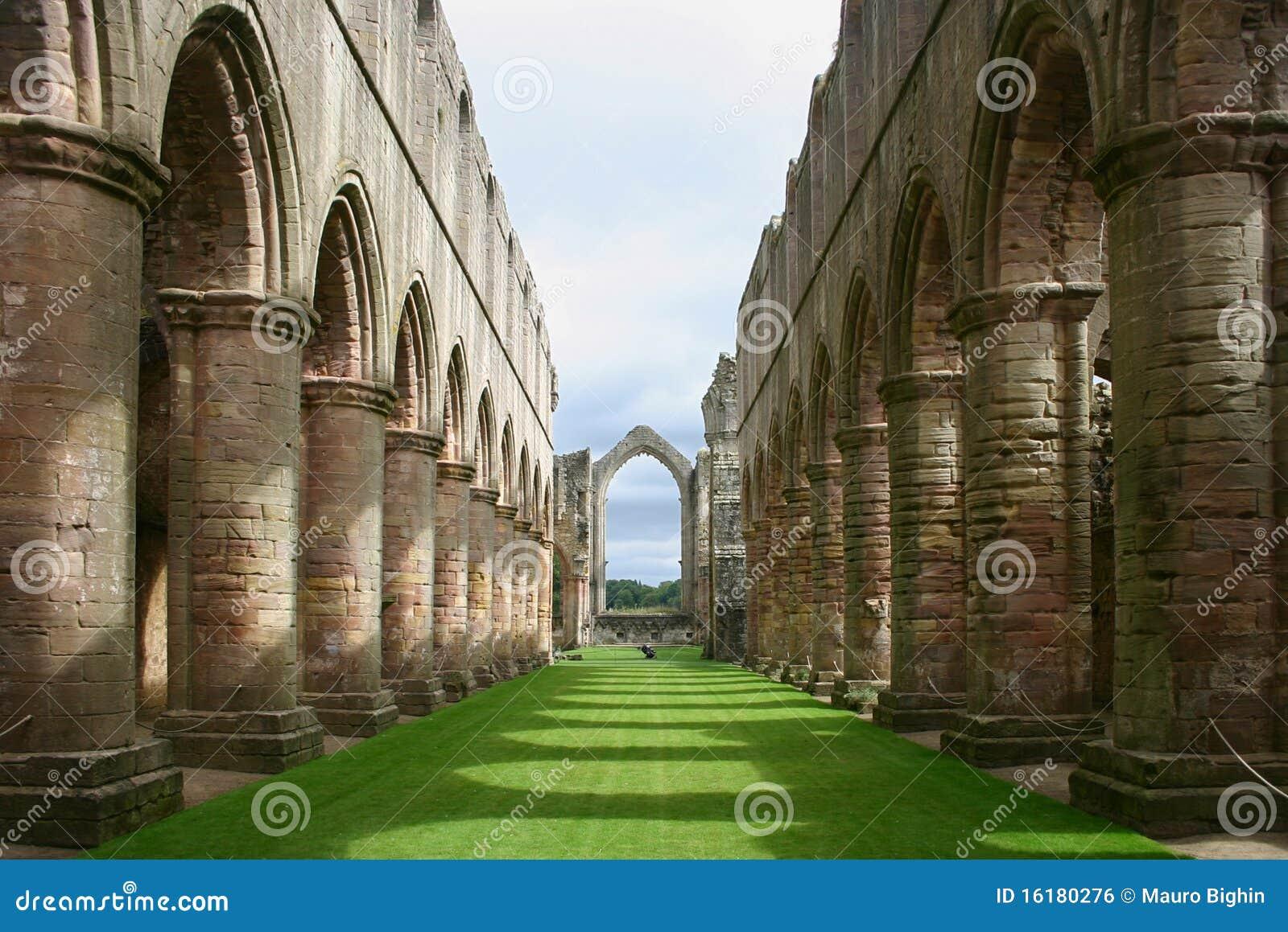 Abadía de las fuentes - Yorkshire - Inglaterra