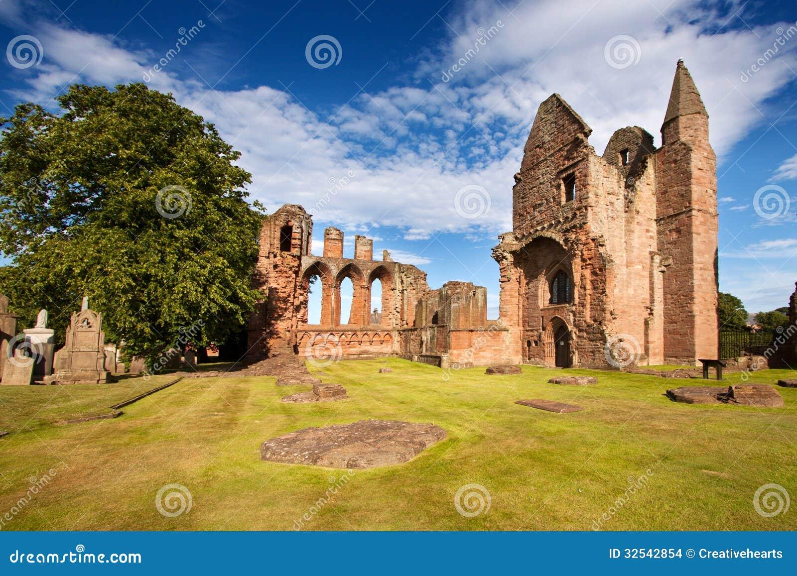 Abadia de Arbroath, Angus, Escócia