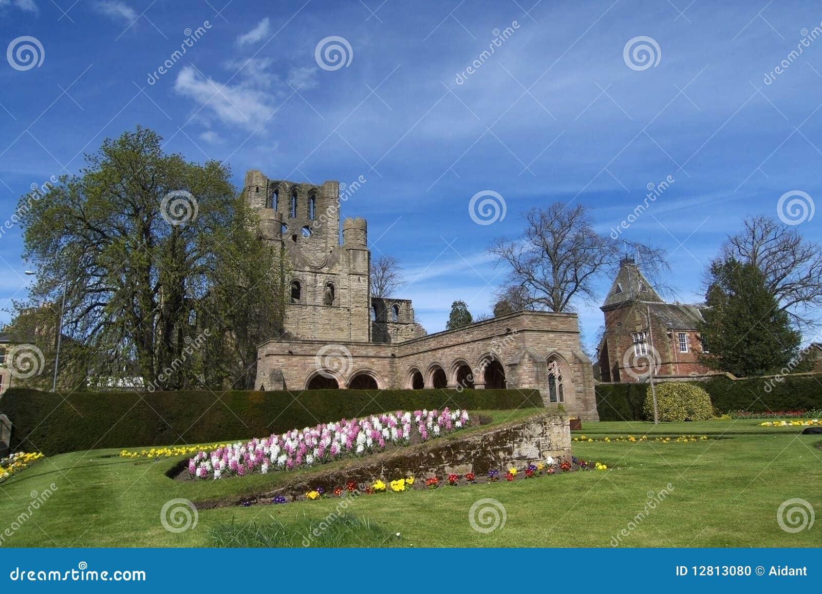 Abadia de Kelso, beiras, Scotland