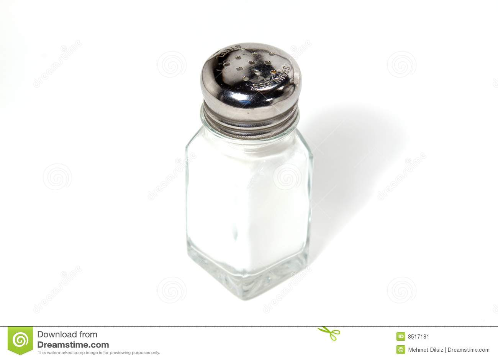 Abanador isolado de sal