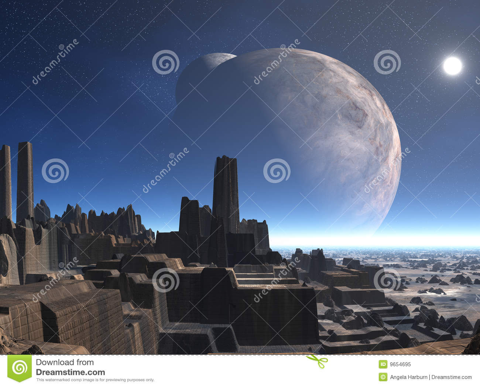Abandoned Alien City