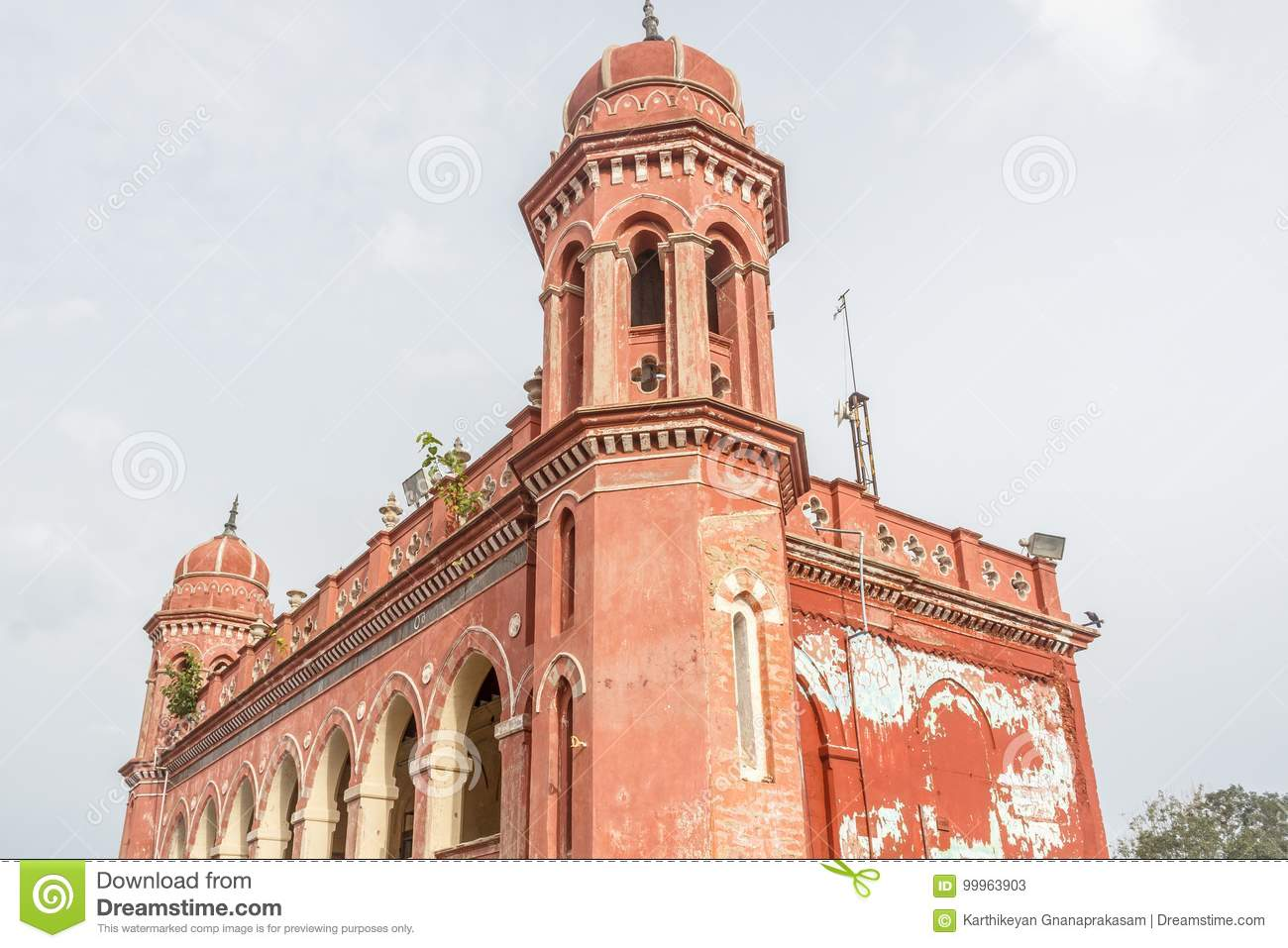famous ancient architecture. Download Abandoned Ancient Architecture Seen At A Famous Landmark  Central Railway Station,Chennai, Famous Ancient Architecture S