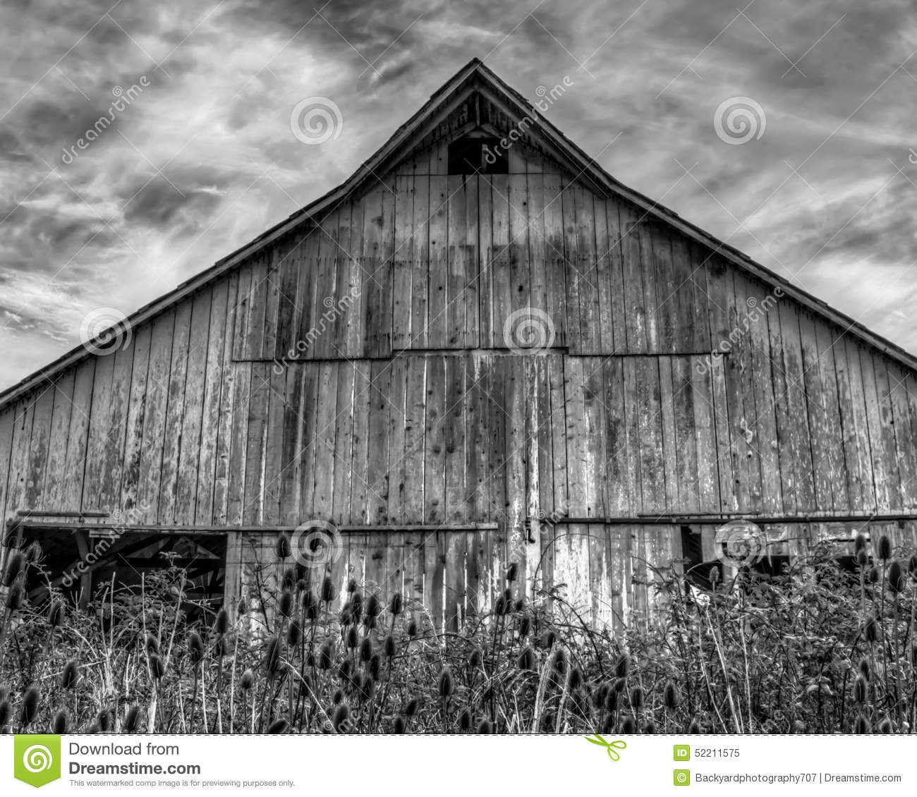 Download Abandoned Barn Stock Image Of Interior Building